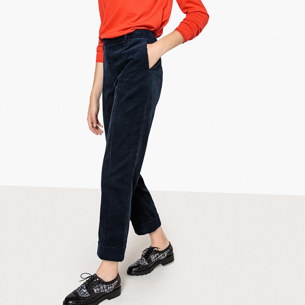 Брюки широкие из велюра брюки широкие длина по внутр шву 78 см