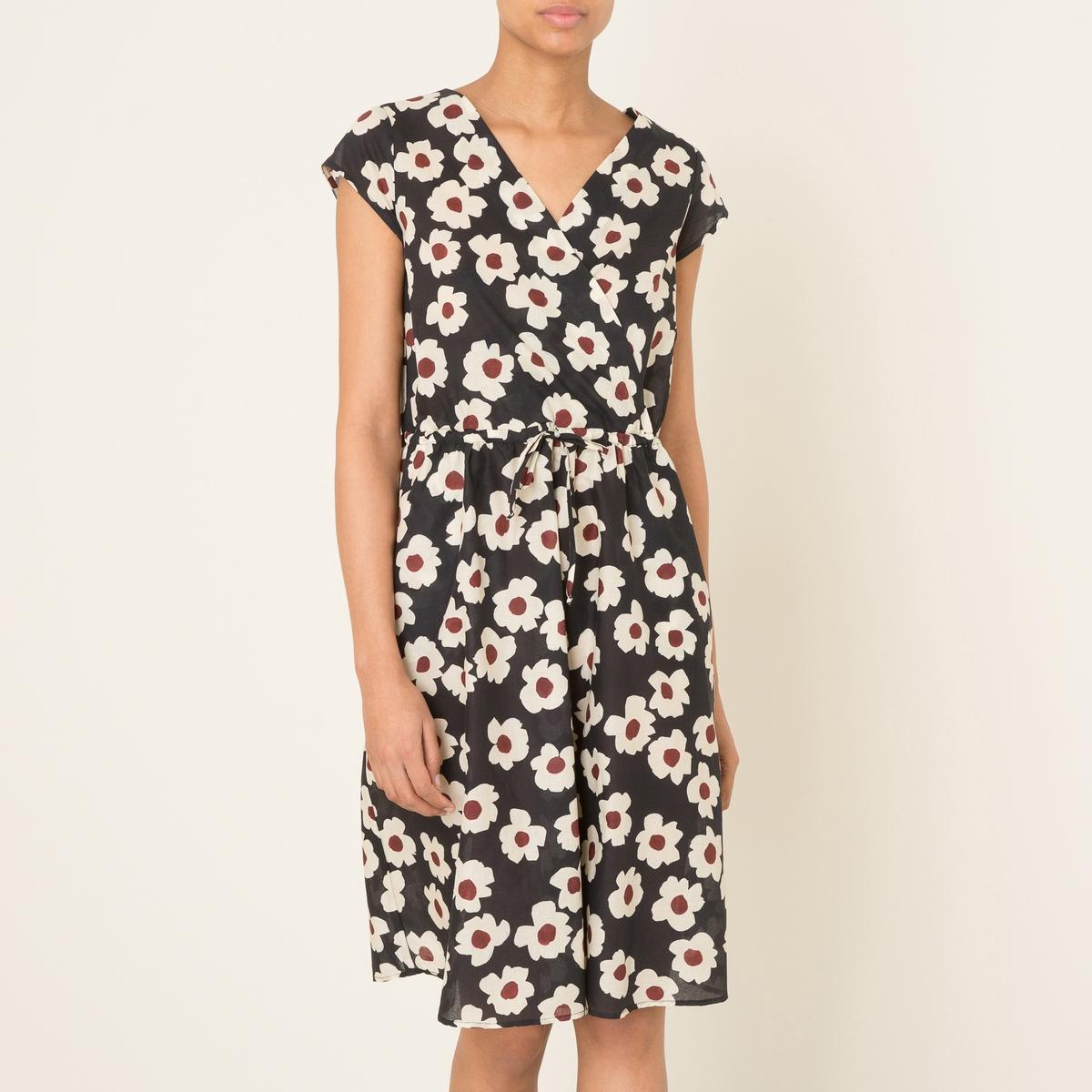 Платье RAFAELA недорогое платье запахом для полных