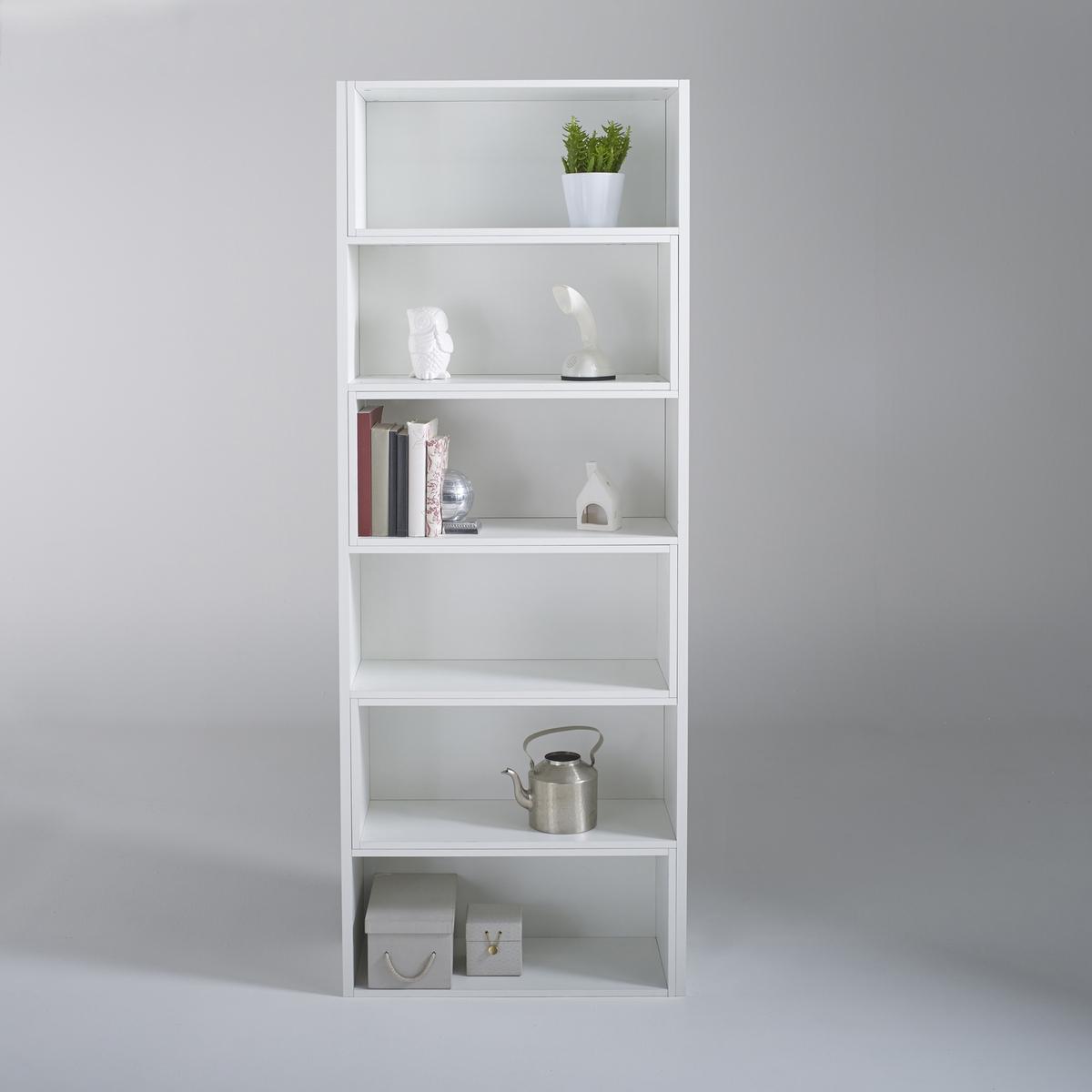 Шкаф LaRedoute Для книг модульный Everett единый размер белый