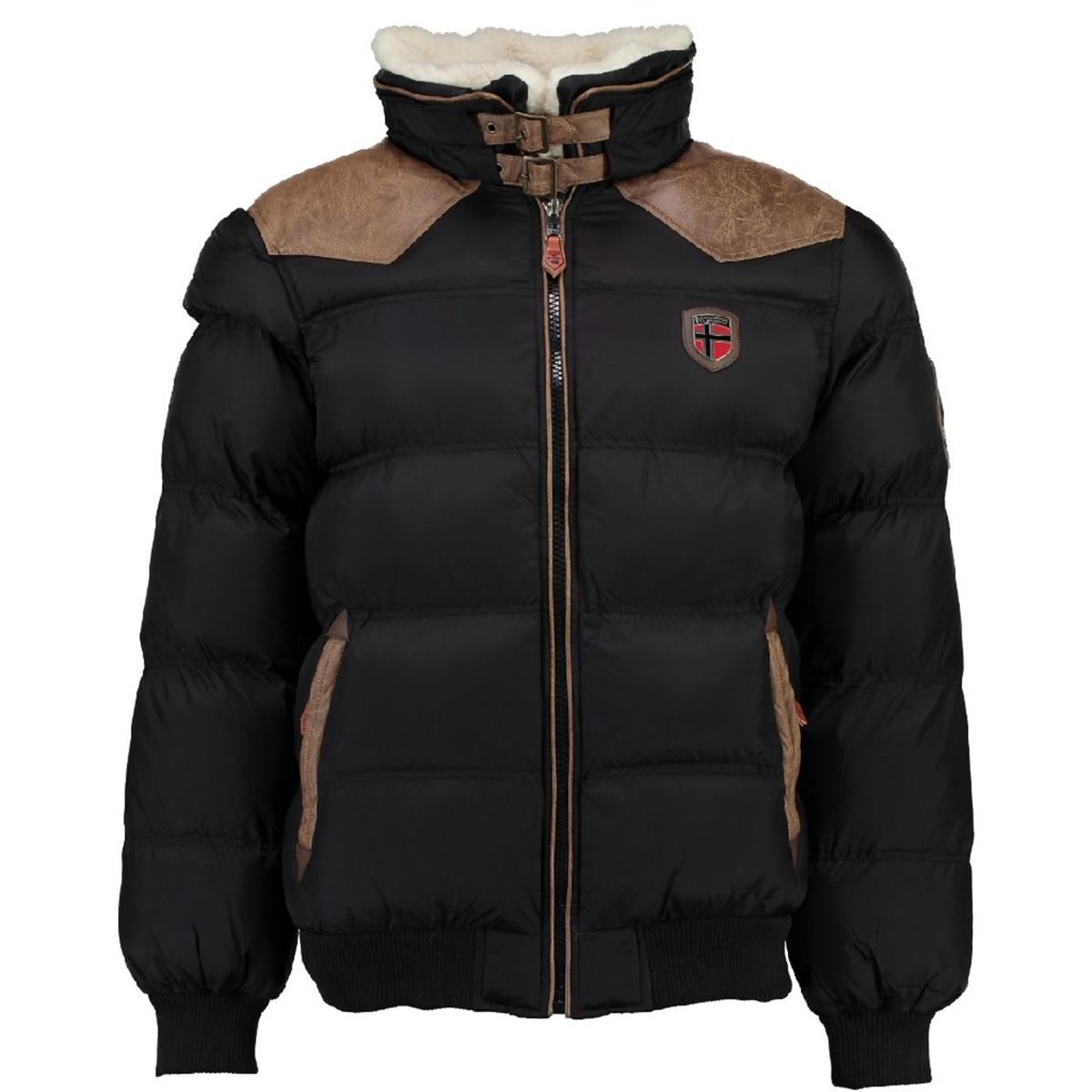 Куртка стеганаяДетали •  Длина : укороченная   •  Капюшон  •  Застежка на молниюСостав и уход •  100% полиамид  •  Следуйте советам по уходу, указанным на этикетке<br><br>Цвет: черный<br>Размер: S