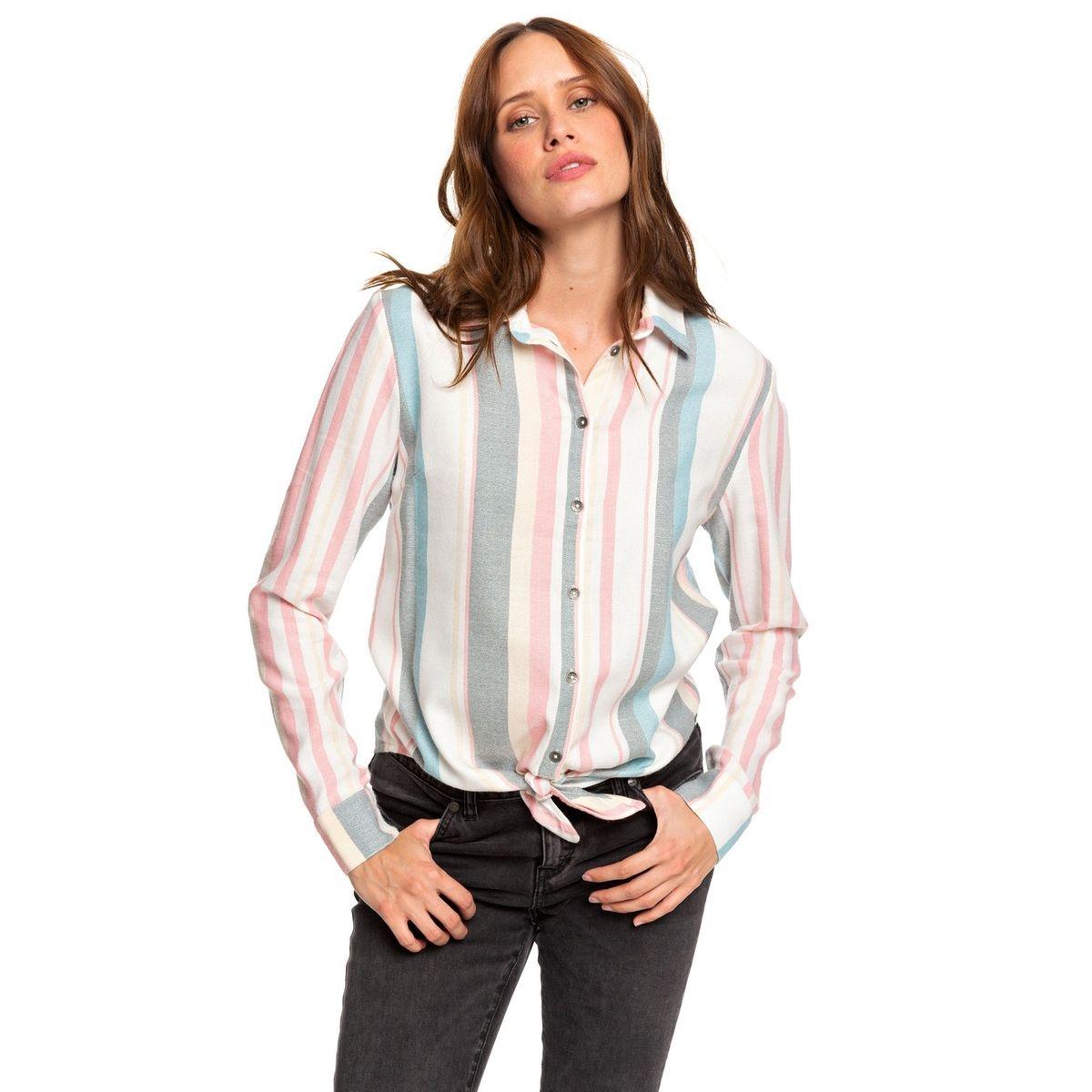 Chemise manches longues avec nœud sur le devant SUBURB VIBES