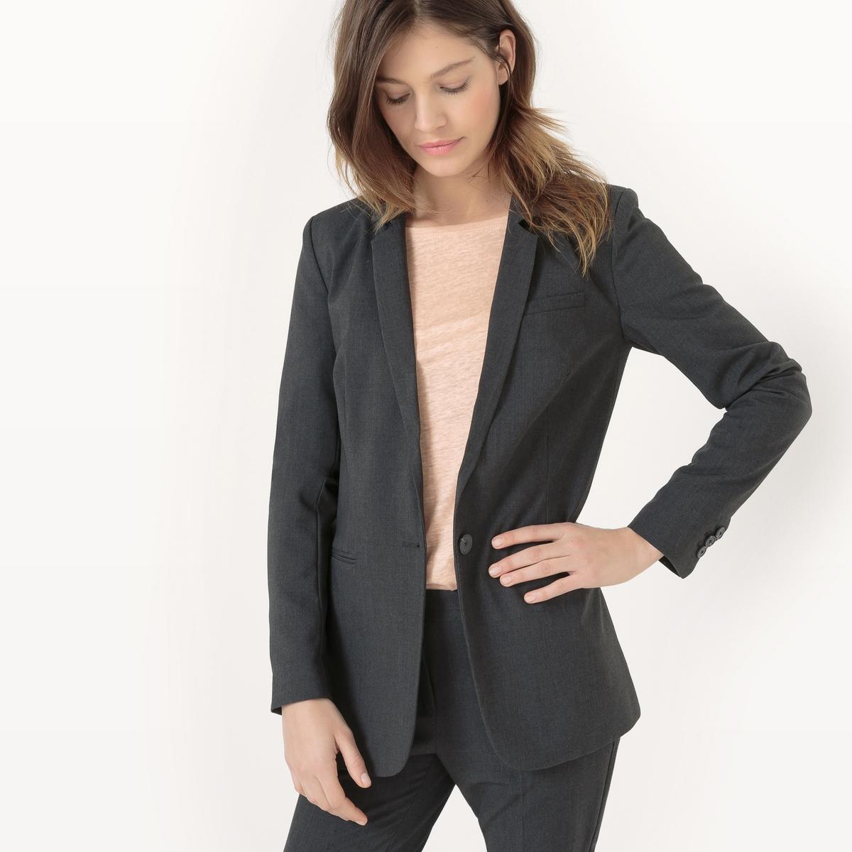 Пиджак костюмный, длина 69 см