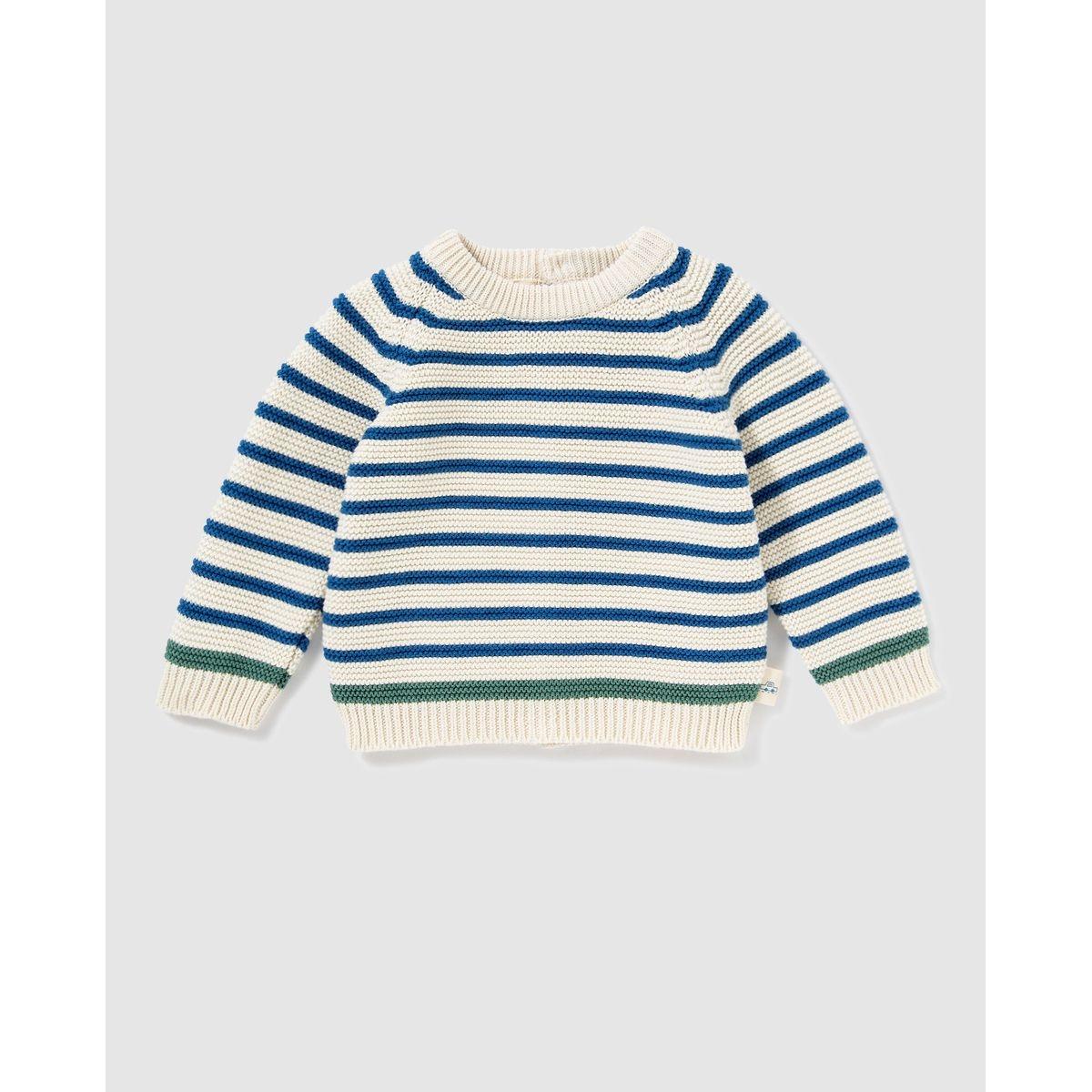 Pull tricot à motif