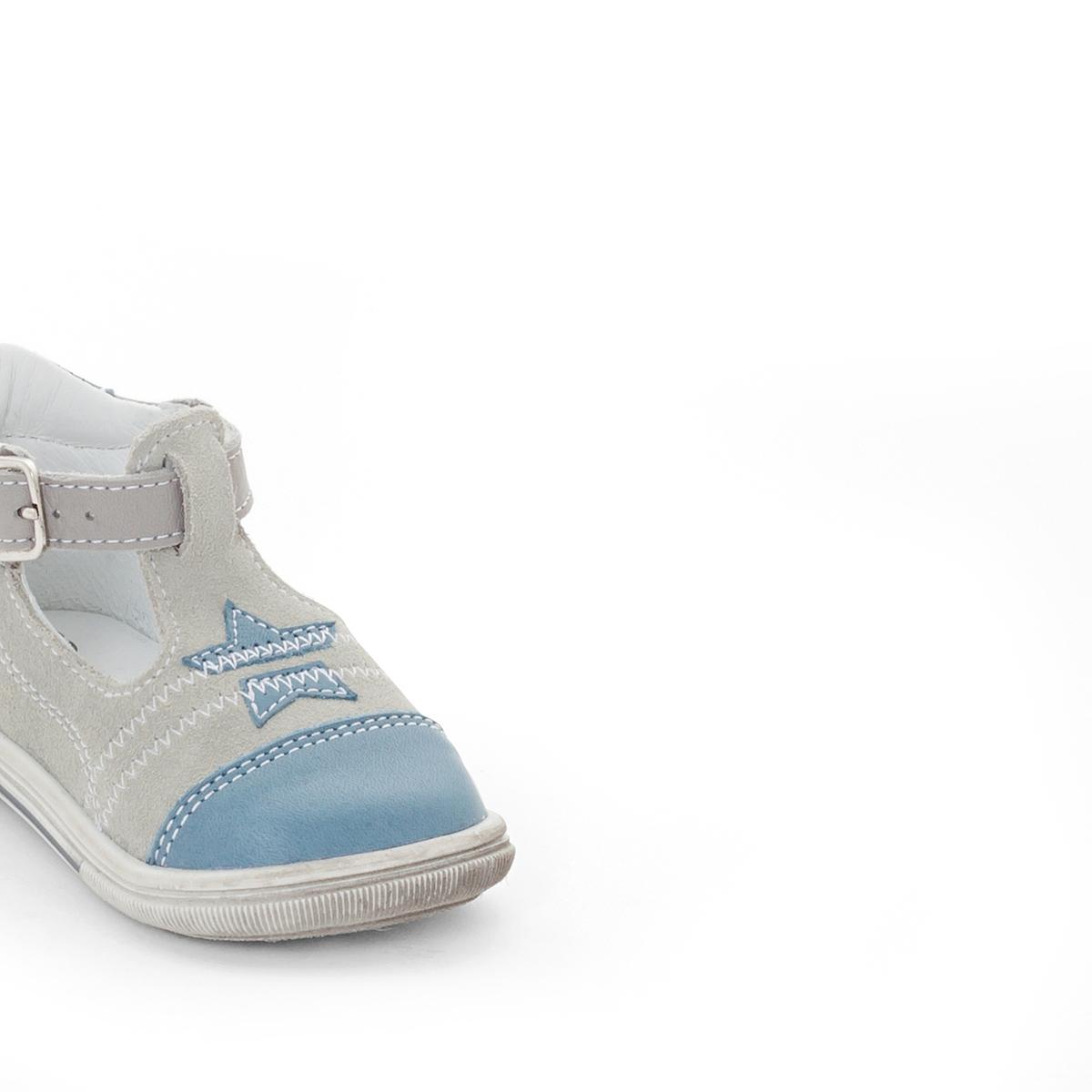 Туфли с пряжкой ZadicВерх / Голенище: Кожа (коровья) Подкладка : кожа.     Стелька : кожа.      Подошва : эластомер     Застежка : ремешок/пряжка<br><br>Цвет: сине-серый<br>Размер: 22