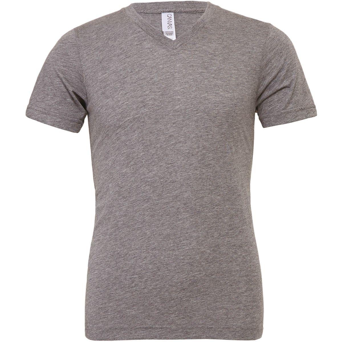 T-shirt homme Triblend col V Bella Canvas