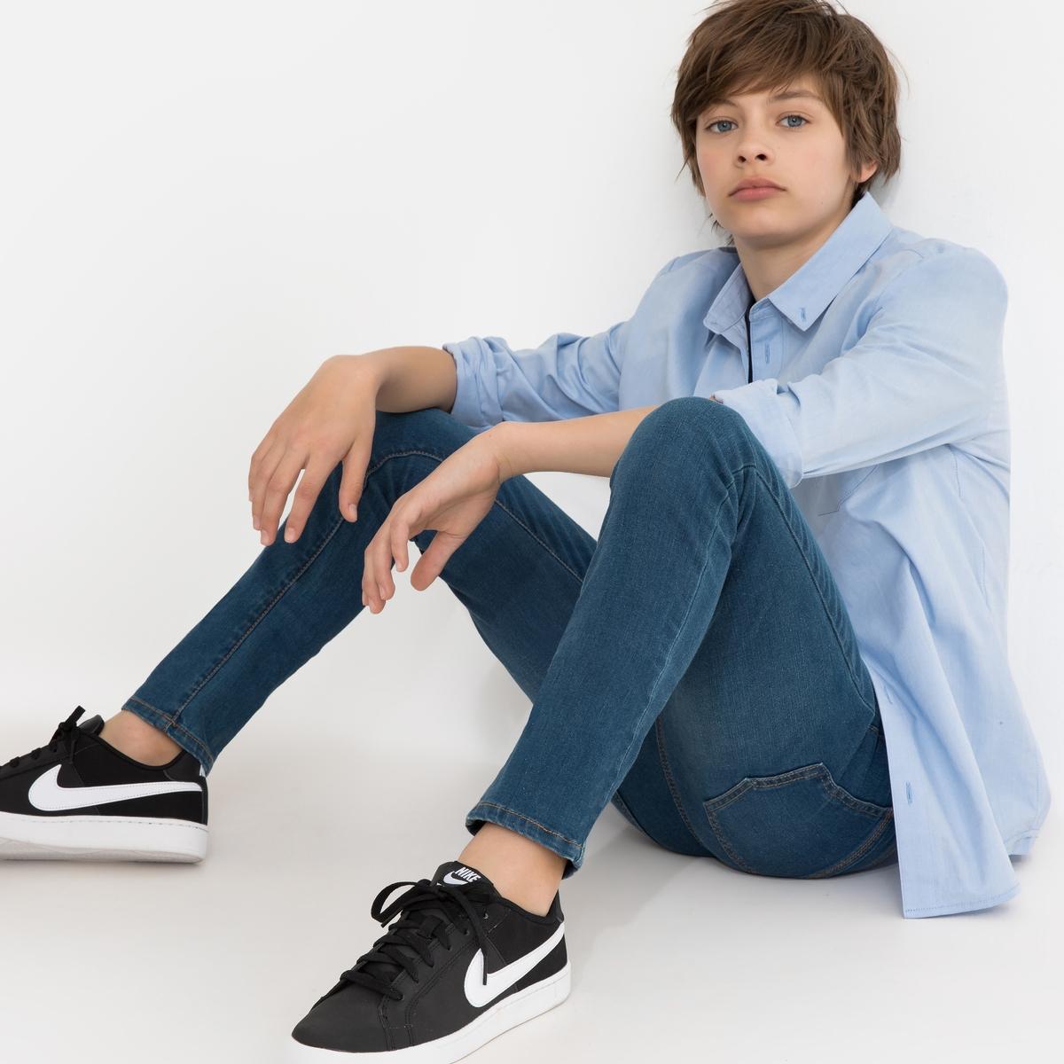 Рубашка La Redoute Из ткани оксфорд 10 лет - 138 см синий рубашка la redoute из ткани оксфорд 16 лет 162 см синий