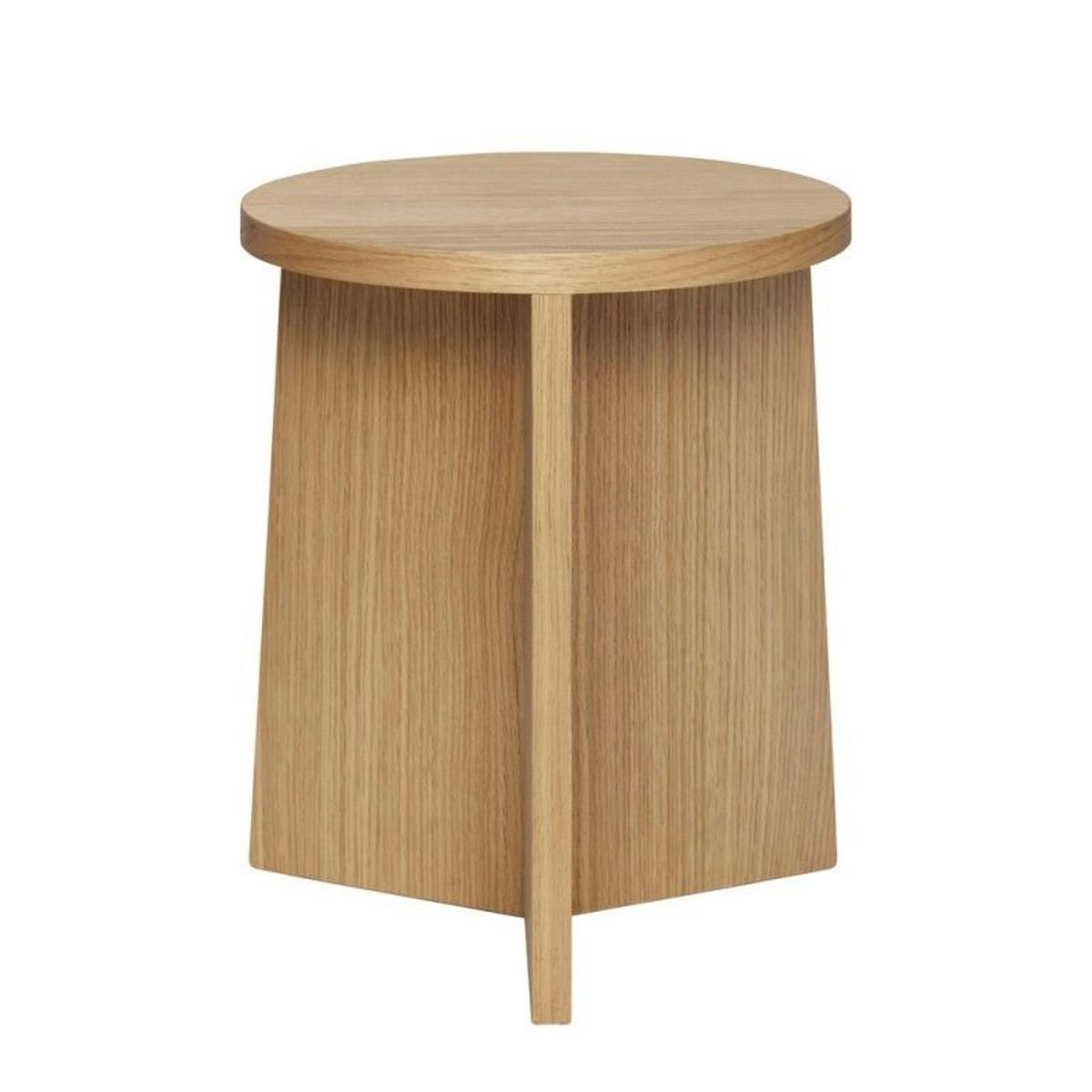 Tabouret design rond bois