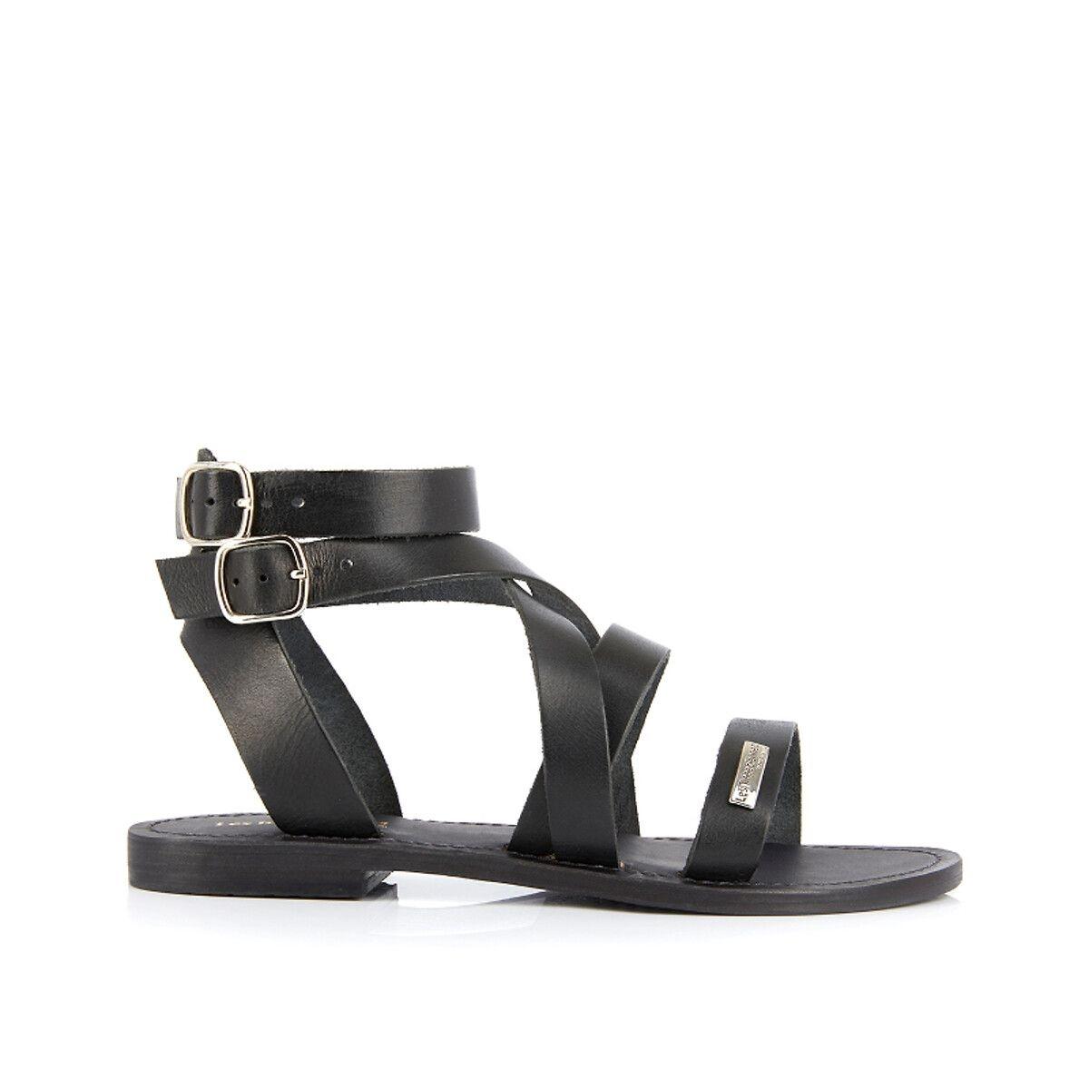 Sandales cuir Oceanie