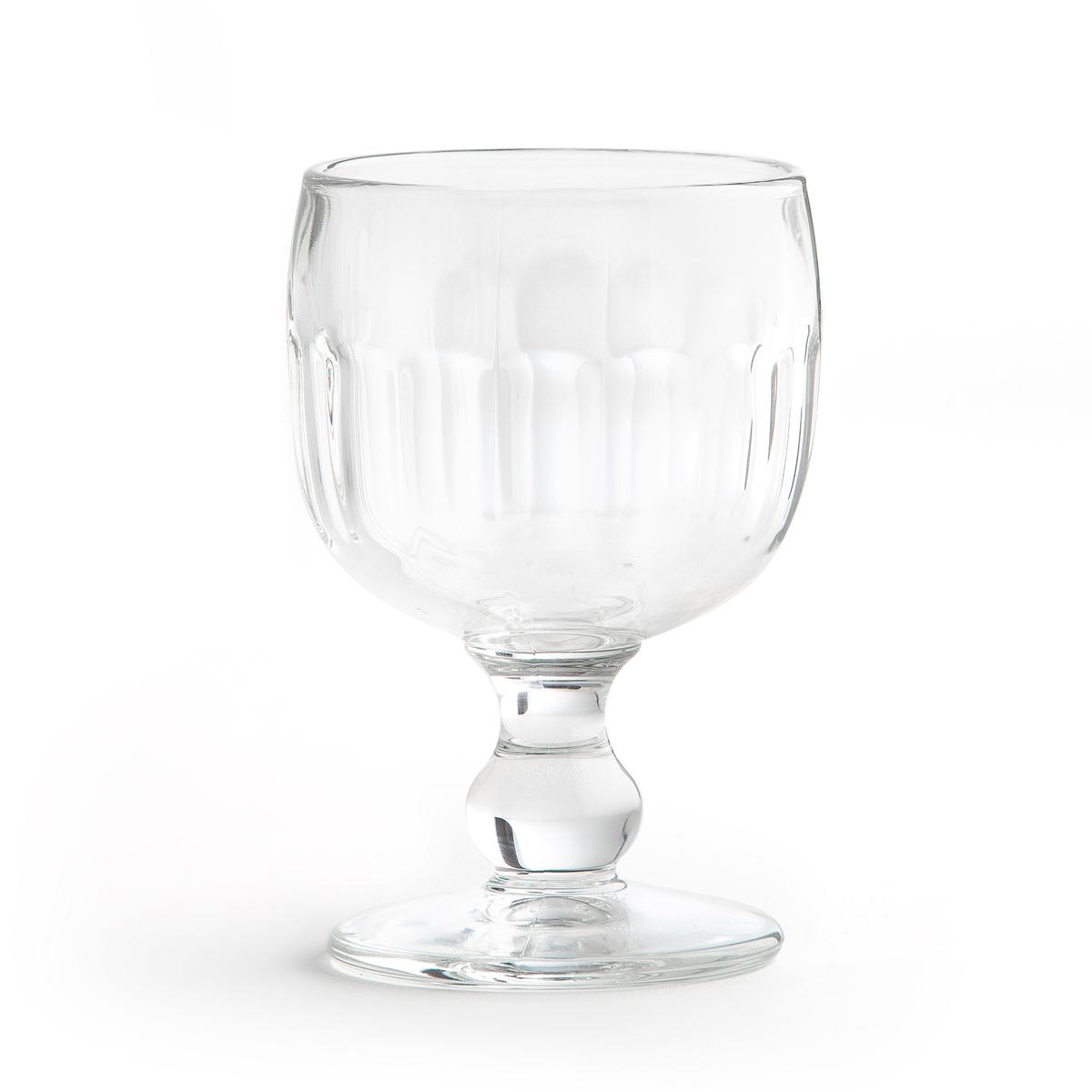 6 бокалов под вино ALCHYSE6 бокалов под вино Alchyse . Из прозрачного стекла . Подходят для использования в посудомоечной машине. Размеры : ?7,5 x H12 см . Вместимость 200 мг .<br><br>Цвет: прозрачный