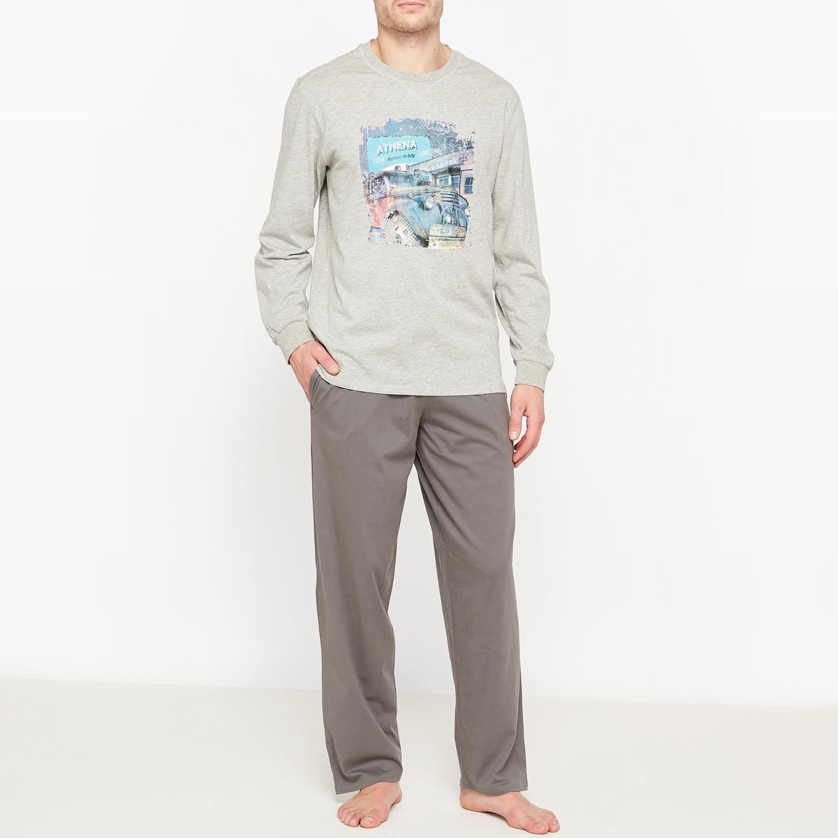 Пижама из трикотажа джерси пижама из атласа и джерси