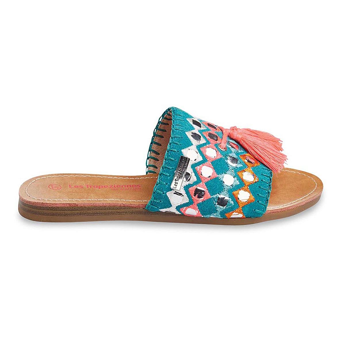 Туфли без задника кожаные Ganache