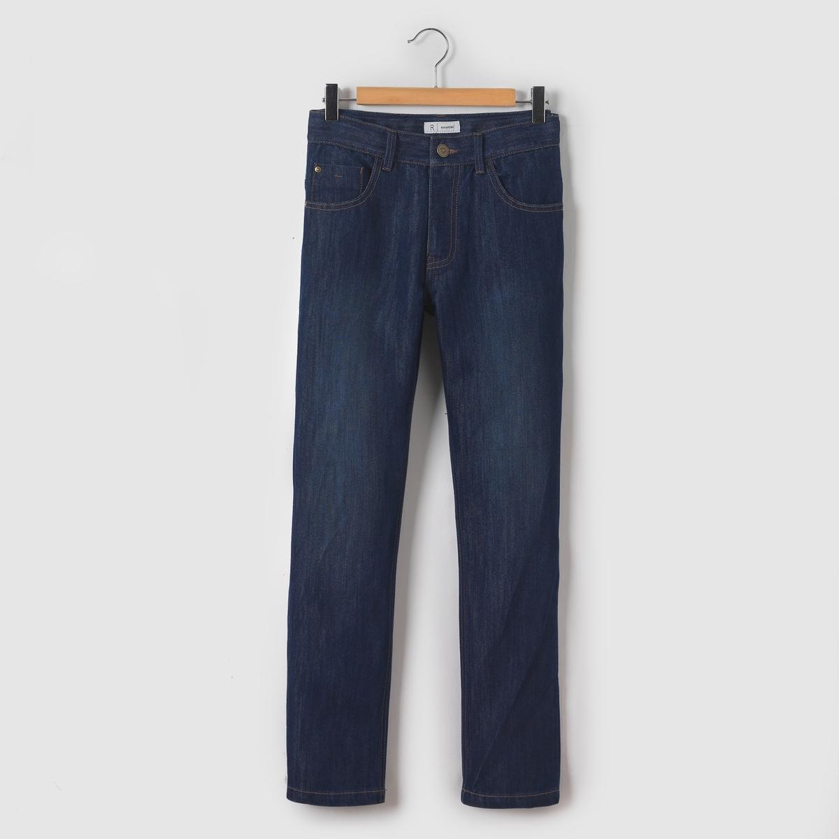 Джинсы широкие, 10-16 летШирокие джинсы с 5 карманами из денима. Пояс регулируется внутренней резинкой на пуговице. Застежка на молнию и пуговицу. Состав и описаниеМатериал       деним 58% хлопка, 42% полиэстераМарка       R essentielУходСтирать и гладить с изнаночной стороныМашинная стирка при 30 °С в умеренном режиме с вещами схожих цветовМашинная сушка в обычном режимеГладить при умеренной температуре<br><br>Цвет: синий потертый<br>Размер: 14 лет.16 лет
