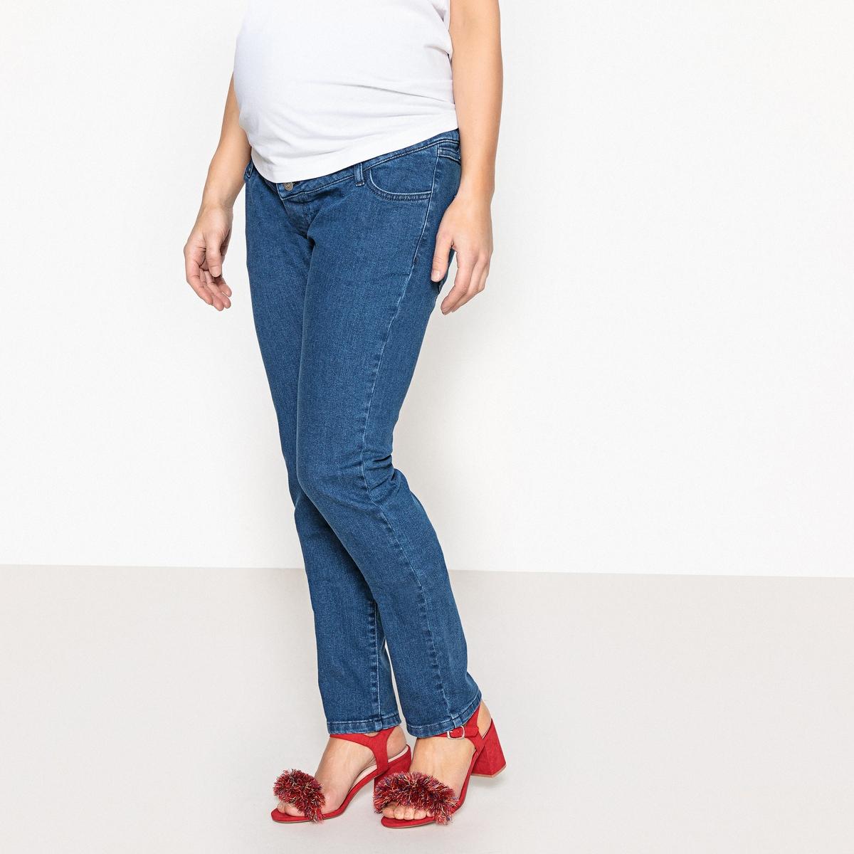 Фото - Джинсы LaRedoute Прямые для периода беременности 36 (FR) - 42 (RUS) синий джинсы laredoute прямые 40 fr 46 rus синий