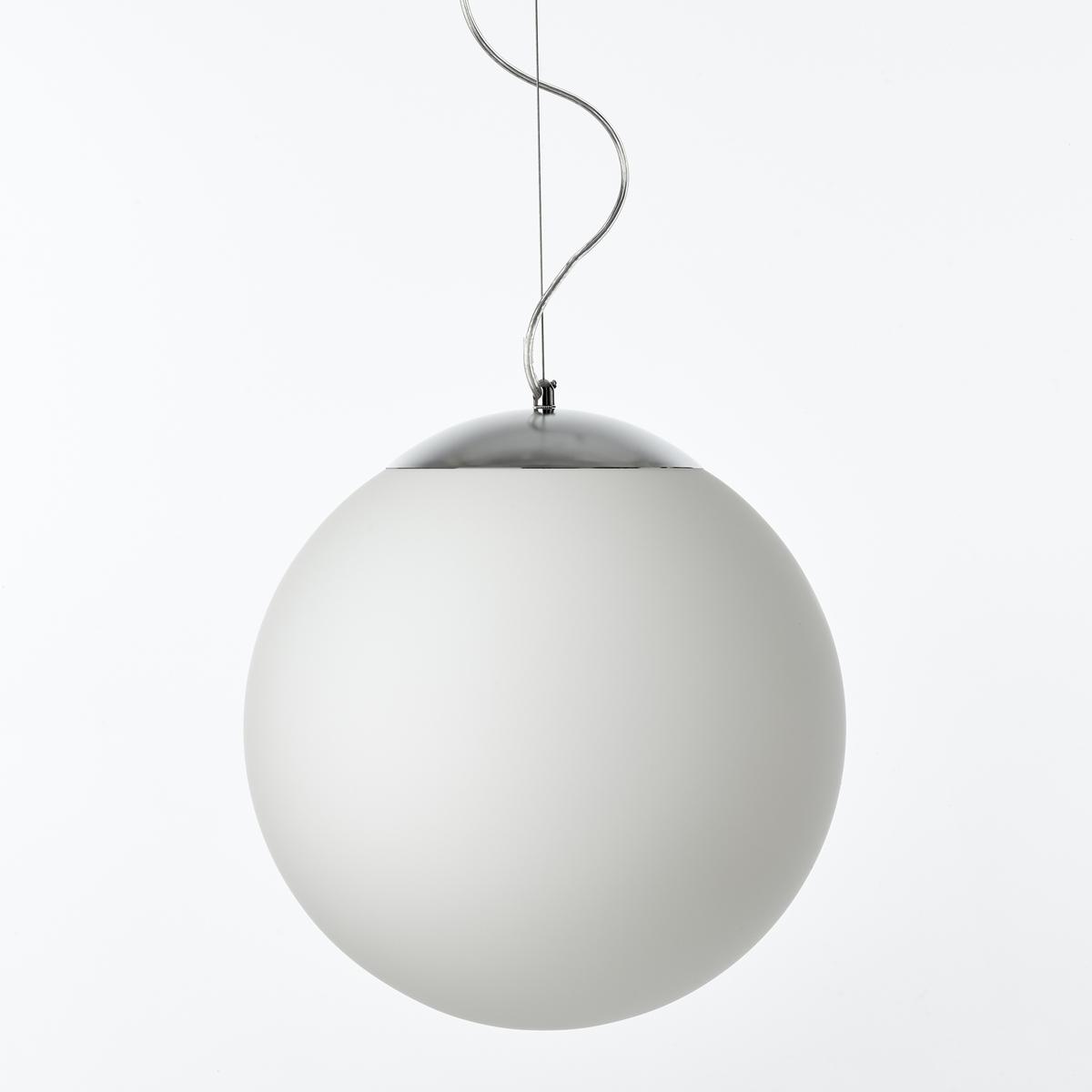 Люстра CocineroЛюстра Cocinero. Элегантная и воздушная люстра создаст приятную атмосферу в вашем доме.Характеристики :- Из опалового стекла, чаша и никелированного металла- Патрон E27 для флуоресцентной лампы макс. 20 Вт (продается отдельно)- Совместим с лампами класса энергопотребления A- B-C-D-E.   Размеры :- Колпак ?30 см- Длина кабеля 120 см<br><br>Цвет: опаловый белый