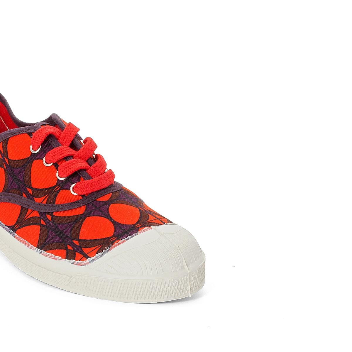 Кеды хлопковыеОписание:Детали   •  Спортивный стиль •  Плоский каблук •  Застежка : шнуровкаСостав и уход   •  Верх 100% ткань •  Подкладка 100% текстиль •  Стелька 100% каучук<br><br>Цвет: красный<br>Размер: 38