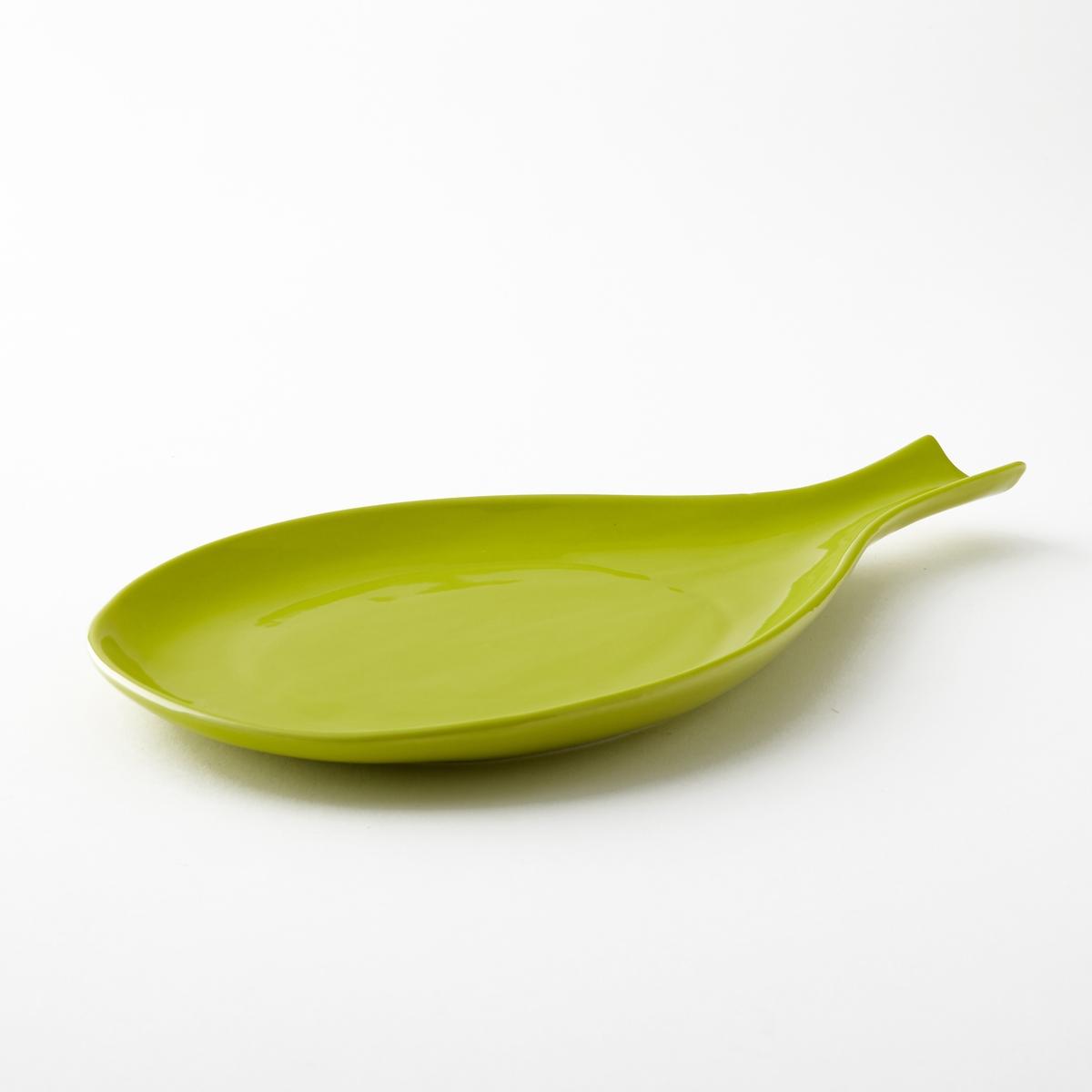 Блюдо в форме тыквы Makela, размер 2Блюдо Makela. Идеально для закусок! Из глазурованного фарфора. Подходит для посудомоечных машин. . : Д32 x В2,5 x Г21 см.<br><br>Цвет: желтый лимон
