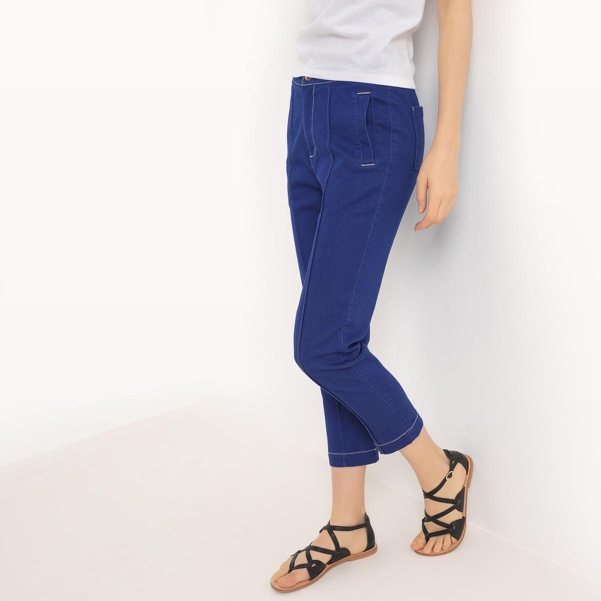 Джинсы узкиеМатериал : 72% хлопка, 17% полиэстера, 9% вискозы, 2% эластана       Высота пояса : стандартный      Покрой : узкие джинсы.      Длина : 32<br><br>Цвет: синий