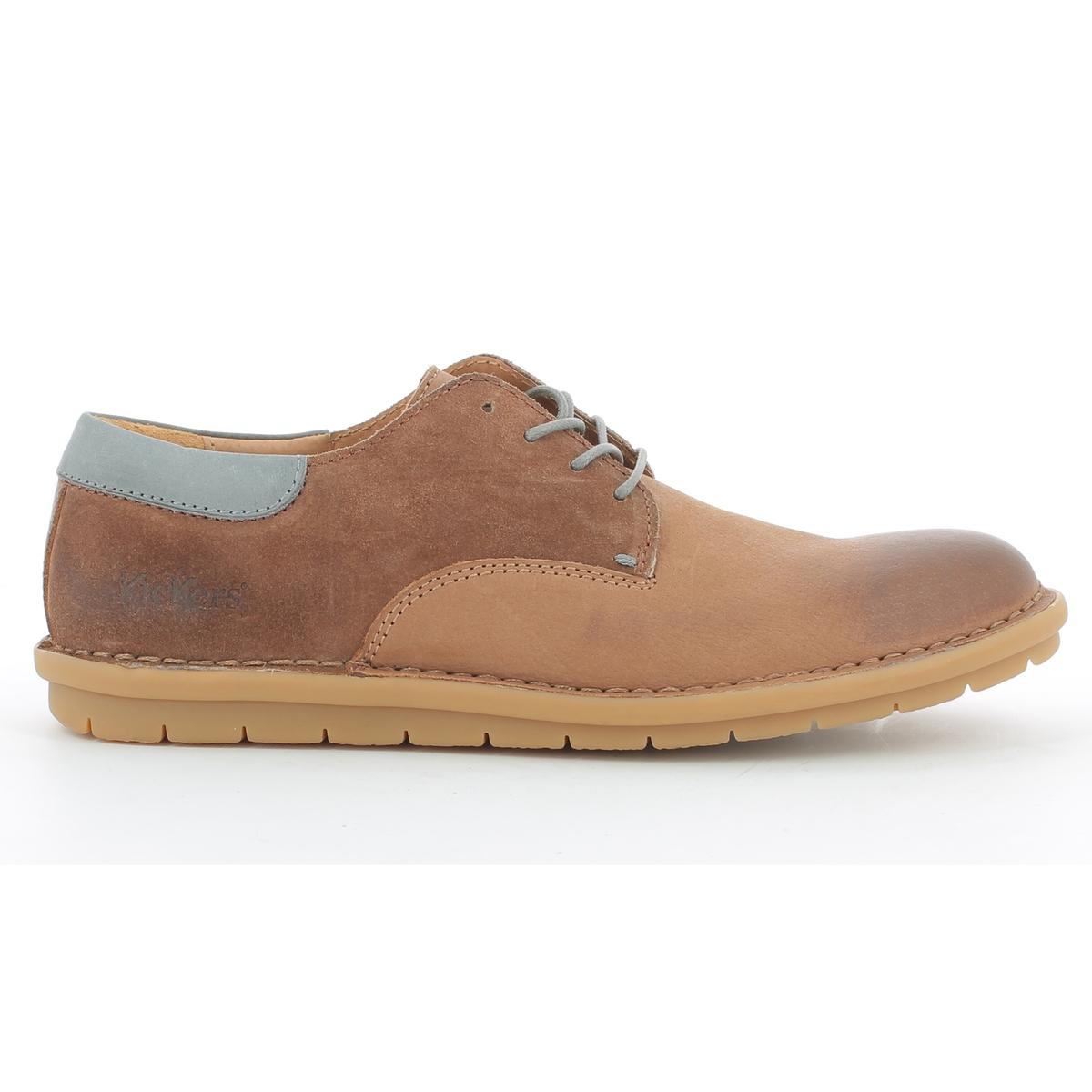 Ботинки-дерби кожаные на шнуровке Vildiur цены онлайн