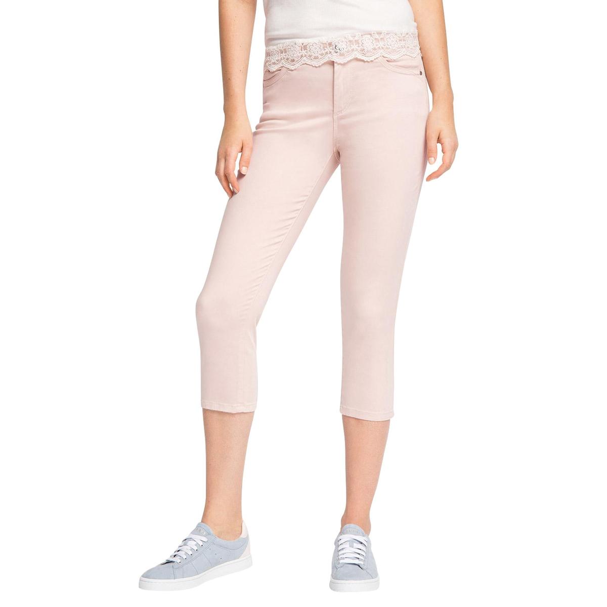 Брюки-скинни короткие, 65% хлопка брюки esprit брюки