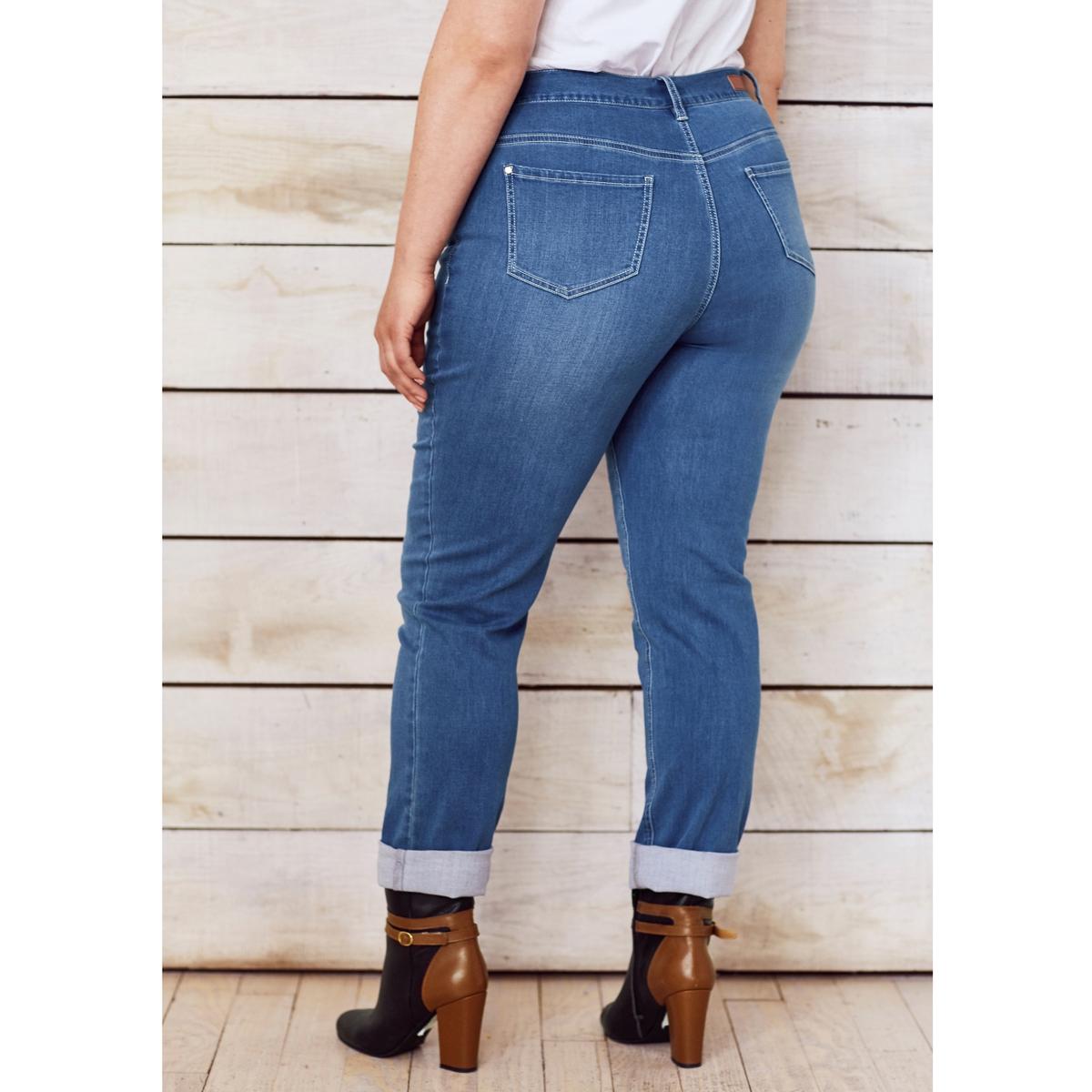 Джинсы прямого покроя стретч,  длина по внутр.шву ок. 78 смДжинсы прямого покроя стретч,  длина по внутр.шву ок.78 см. Деним стретч, 98% хлопка, 2% эластана.Подчеркивается талия, бедра, ягодицы зрительно округляются: прямые джинсы стретч отлично сидят и чрезвычайно удобны! 5 карманов. Рост от 1 м 65 см: длина по внутр.шву ок. 78 см..<br><br>Цвет: голубой потертый,синий потертый,темно-синий,черный<br>Размер: 42 (FR) - 48 (RUS).58 (FR) - 64 (RUS).44 (FR) - 50 (RUS).54 (FR) - 60 (RUS).42 (FR) - 48 (RUS).52 (FR) - 58 (RUS).56 (FR) - 62 (RUS).42 (FR) - 48 (RUS).44 (FR) - 50 (RUS).48 (FR) - 54 (RUS)