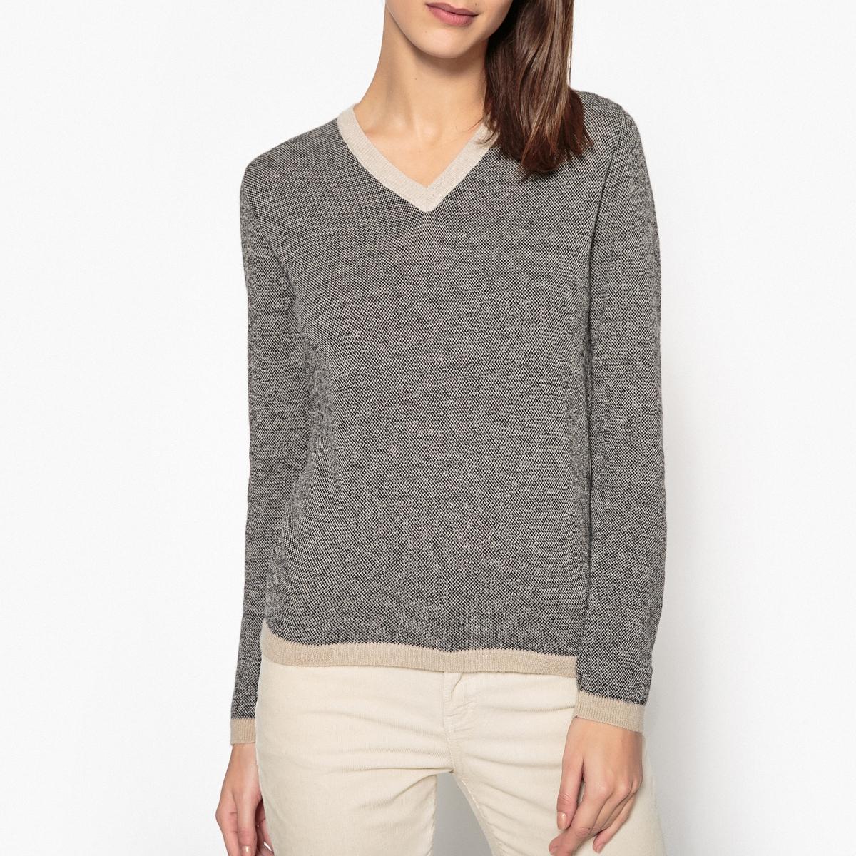 Пуловер с V-образным вырезом PUVITO