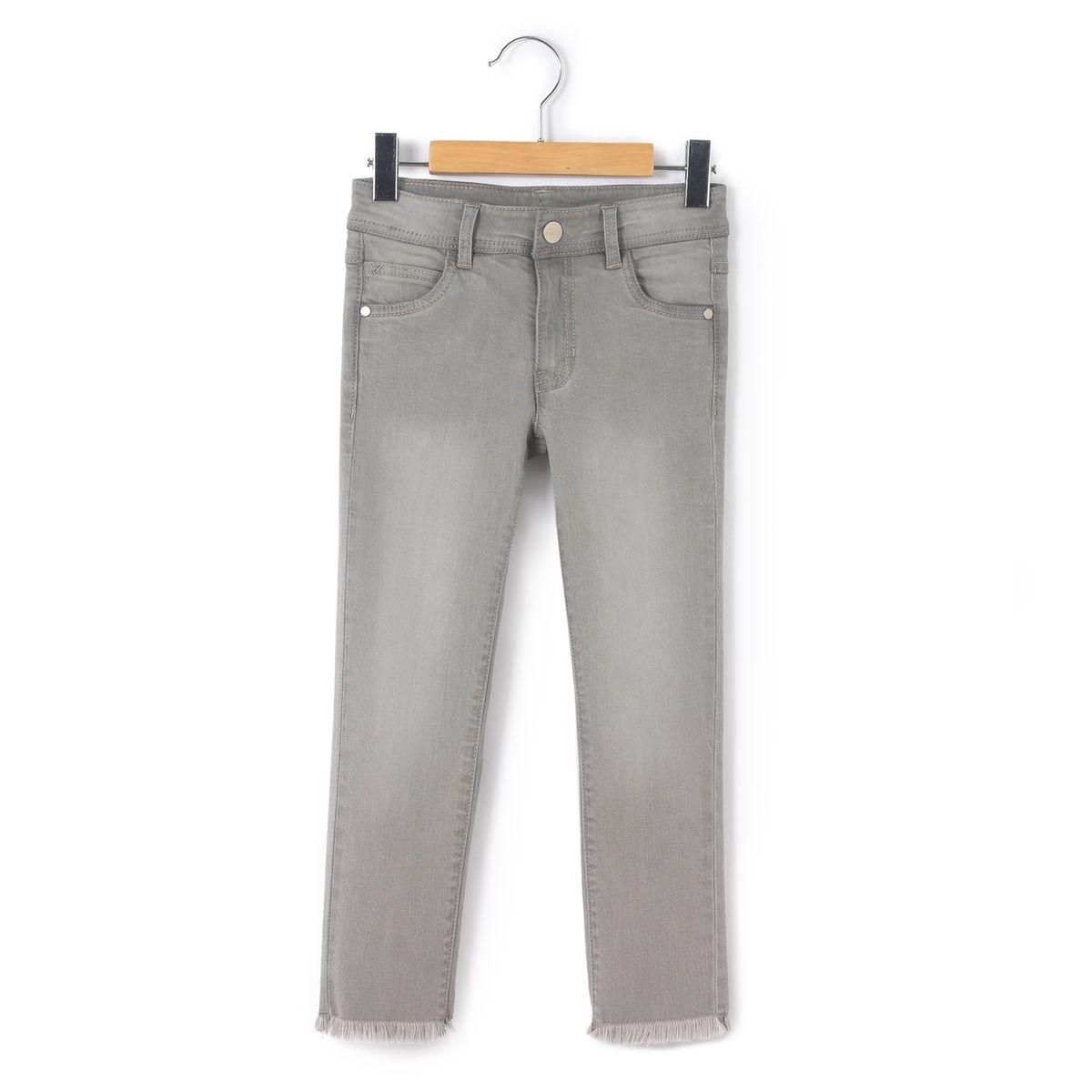La Redoute Collections Jean à franges skinny 3-12 ans a99cba373499