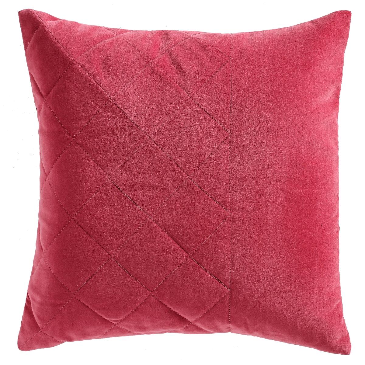 Чехол для подушки из стеганого велюра RECINTO