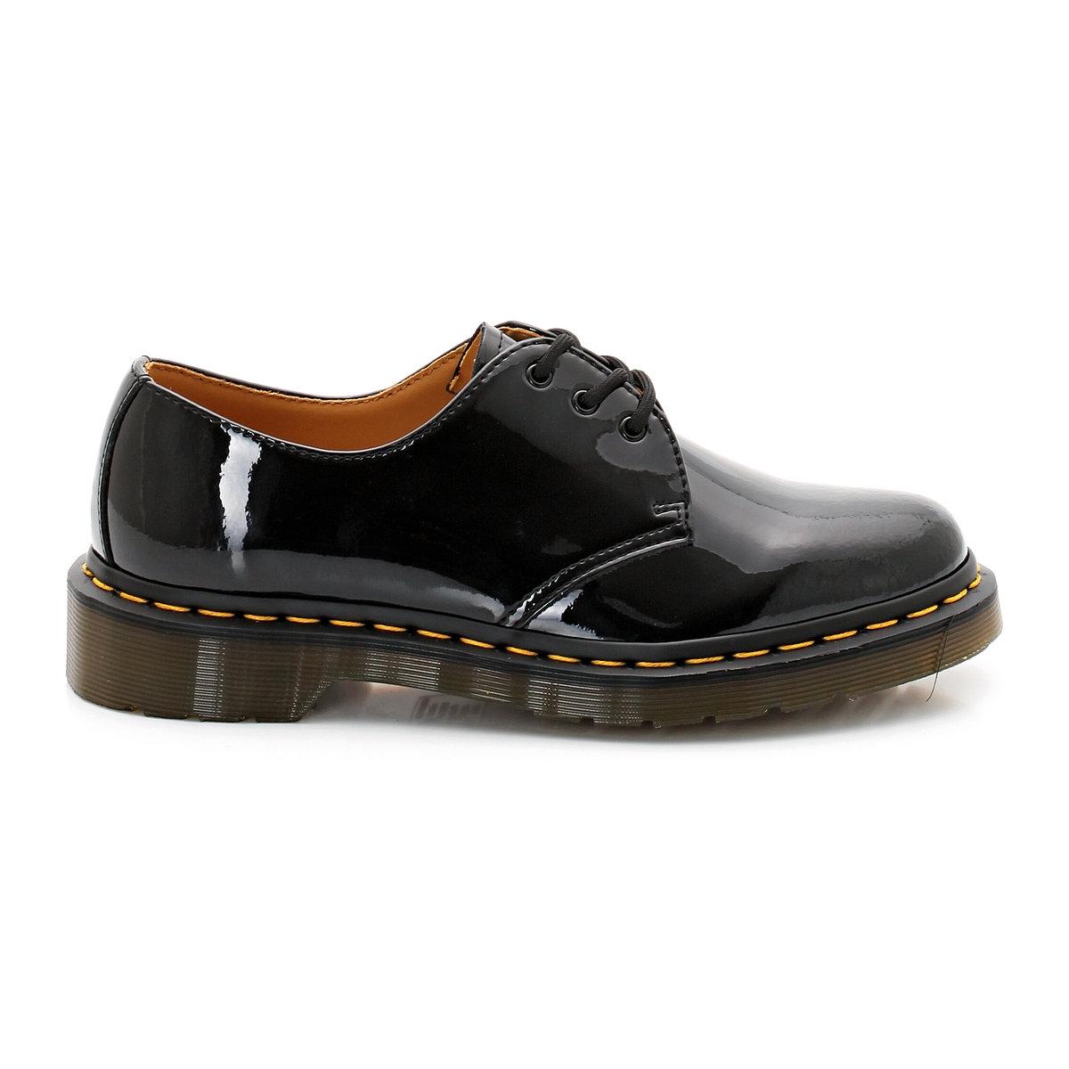 Ботинки-дерби из лакированной кожи на шнуровке цены онлайн