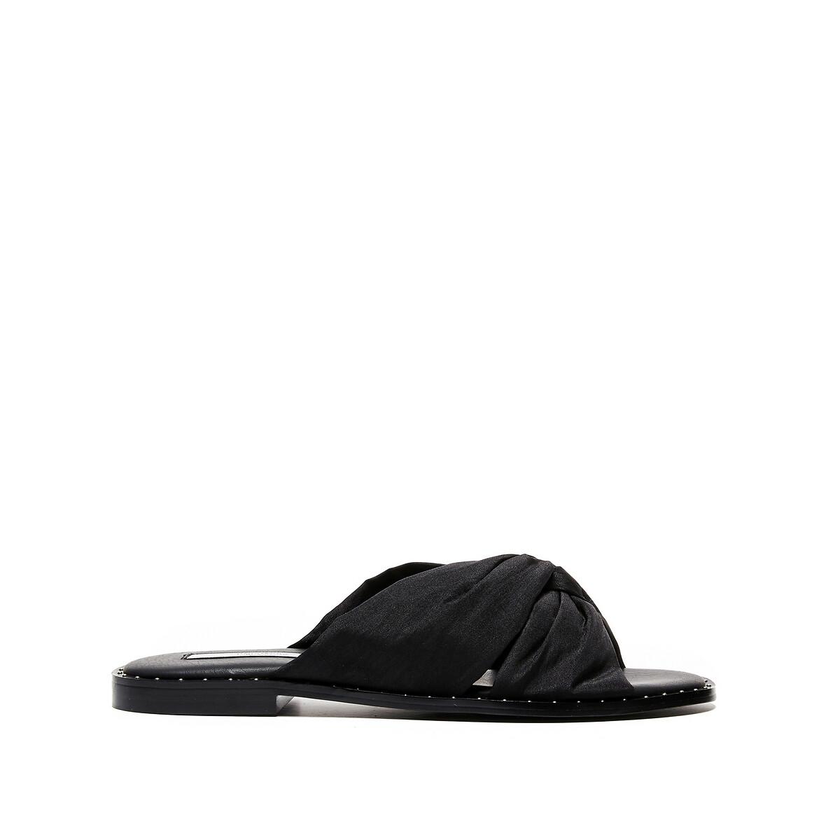 Туфли LaRedoute Без задника Hayes Naked 38 черный туфли без задника boite
