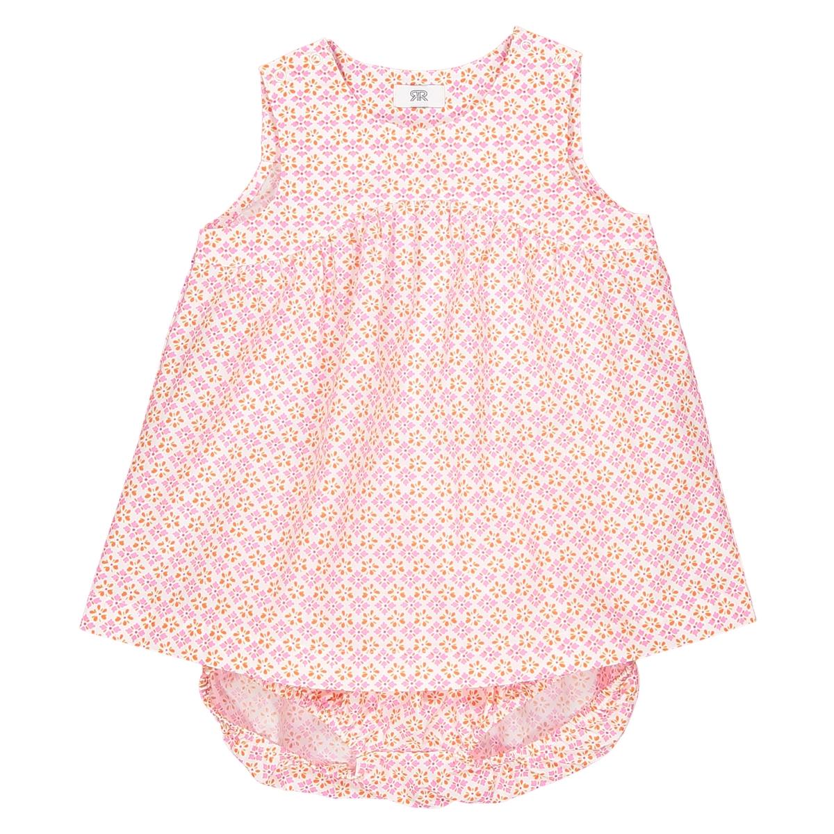 Комплект для малышей из платья и шортов 0 мес. - 3 года от La Redoute Collections