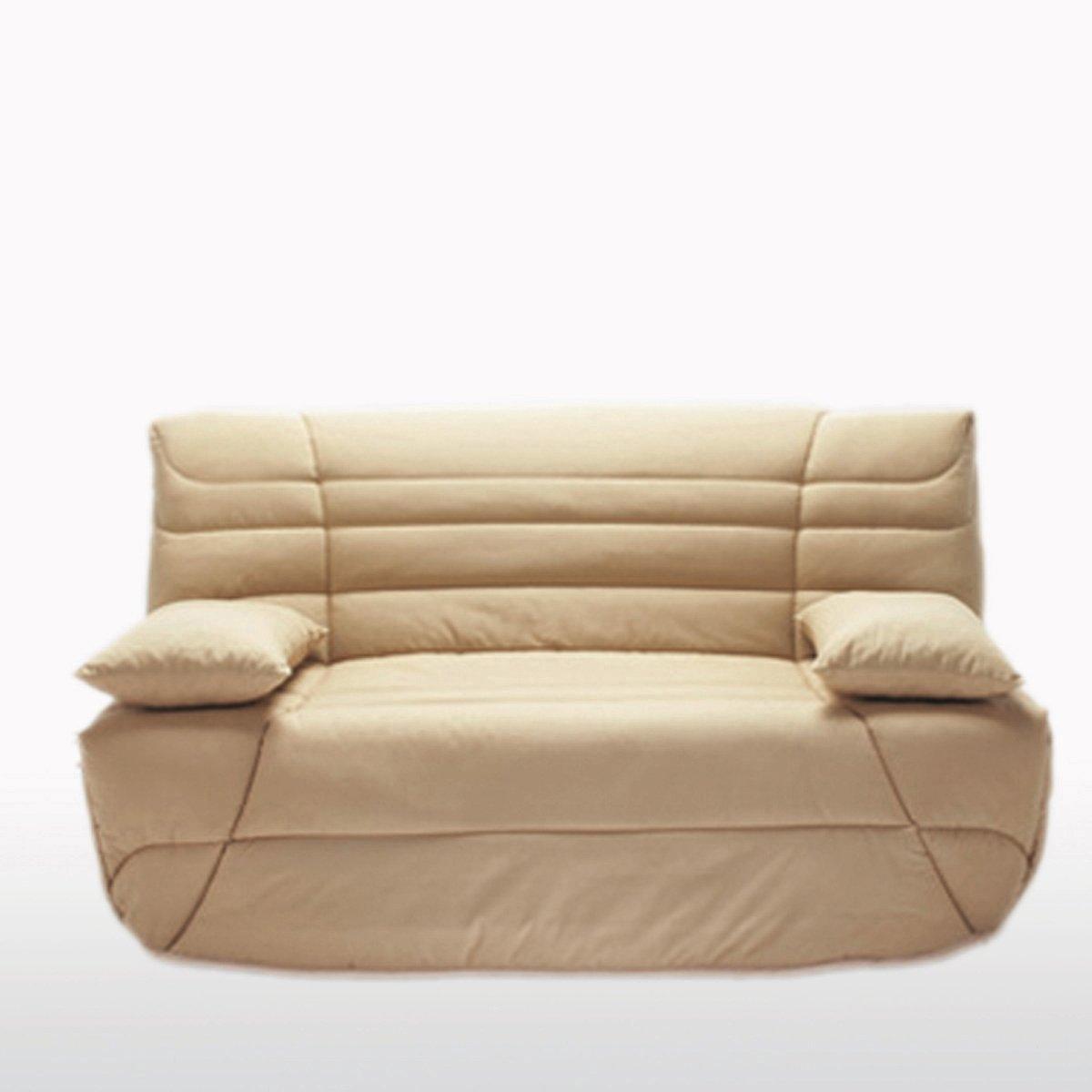 Чехол La Redoute Стеганый BZ толщина см 90 x 190 см бежевый чехол стеганый для раскладного дивана scénario