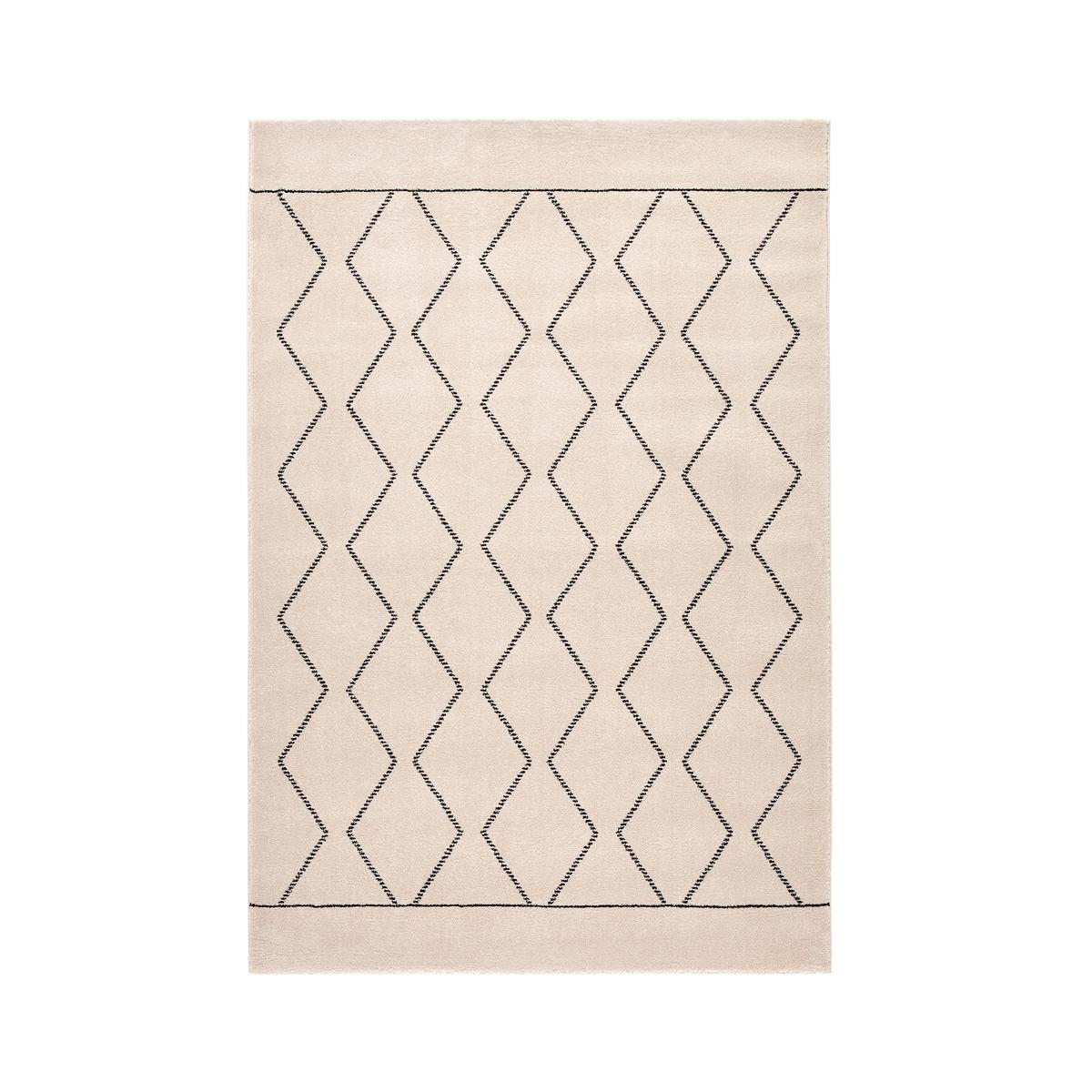 Ковер La Redoute Oliban в арабском стиле 160 x 230 см черный ковер la redoute в берберском стиле kaylon 120 x 170 см каштановый