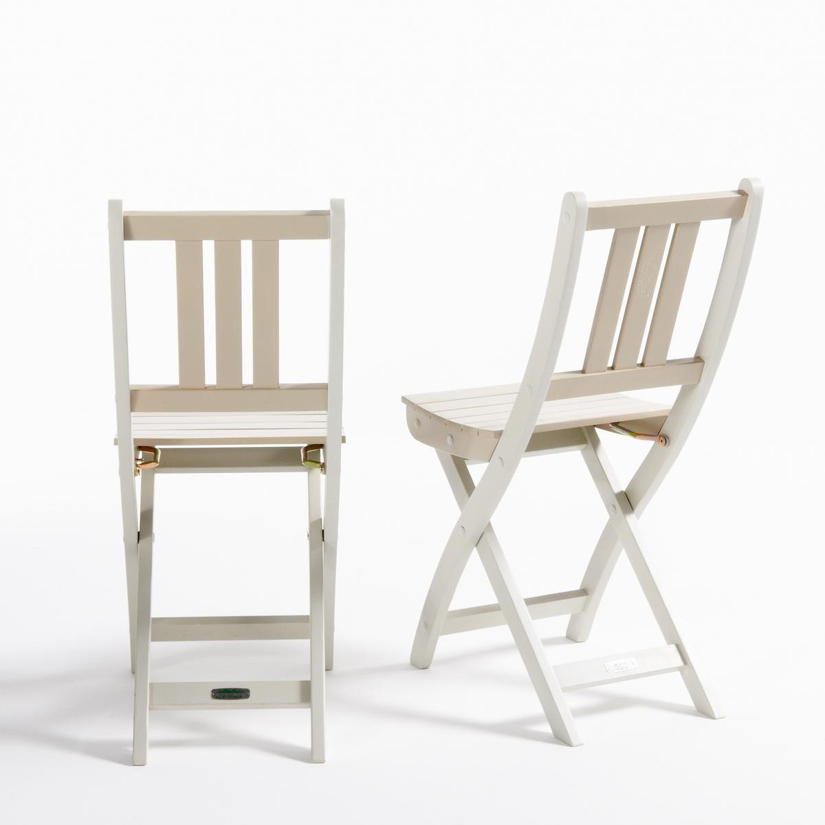 2 стула садовых из акации FSC