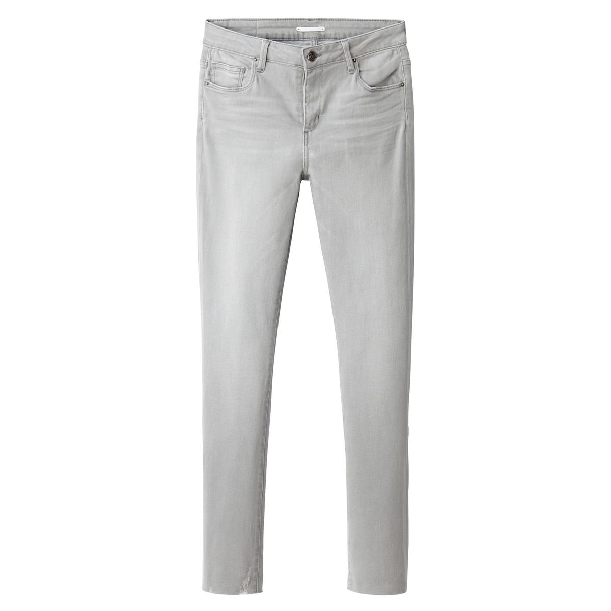 Джинсы скинни 7/8Материал : 98% хлопка, 2% эластана  Высота пояса : стандартная Покрой джинсов : скинни Длина джинсов : длина 32<br><br>Цвет: серый
