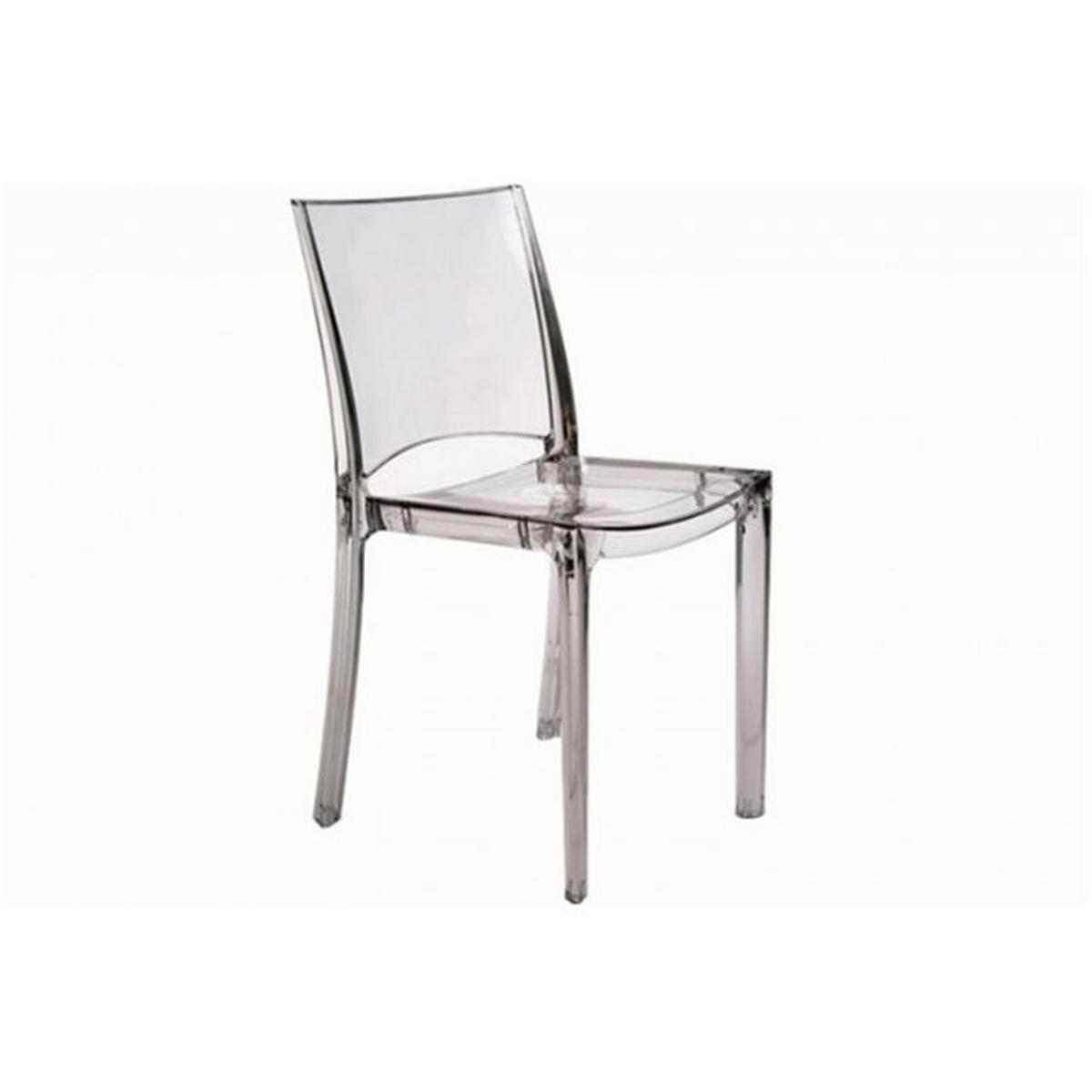 Chaise Design Transparente SOMMET