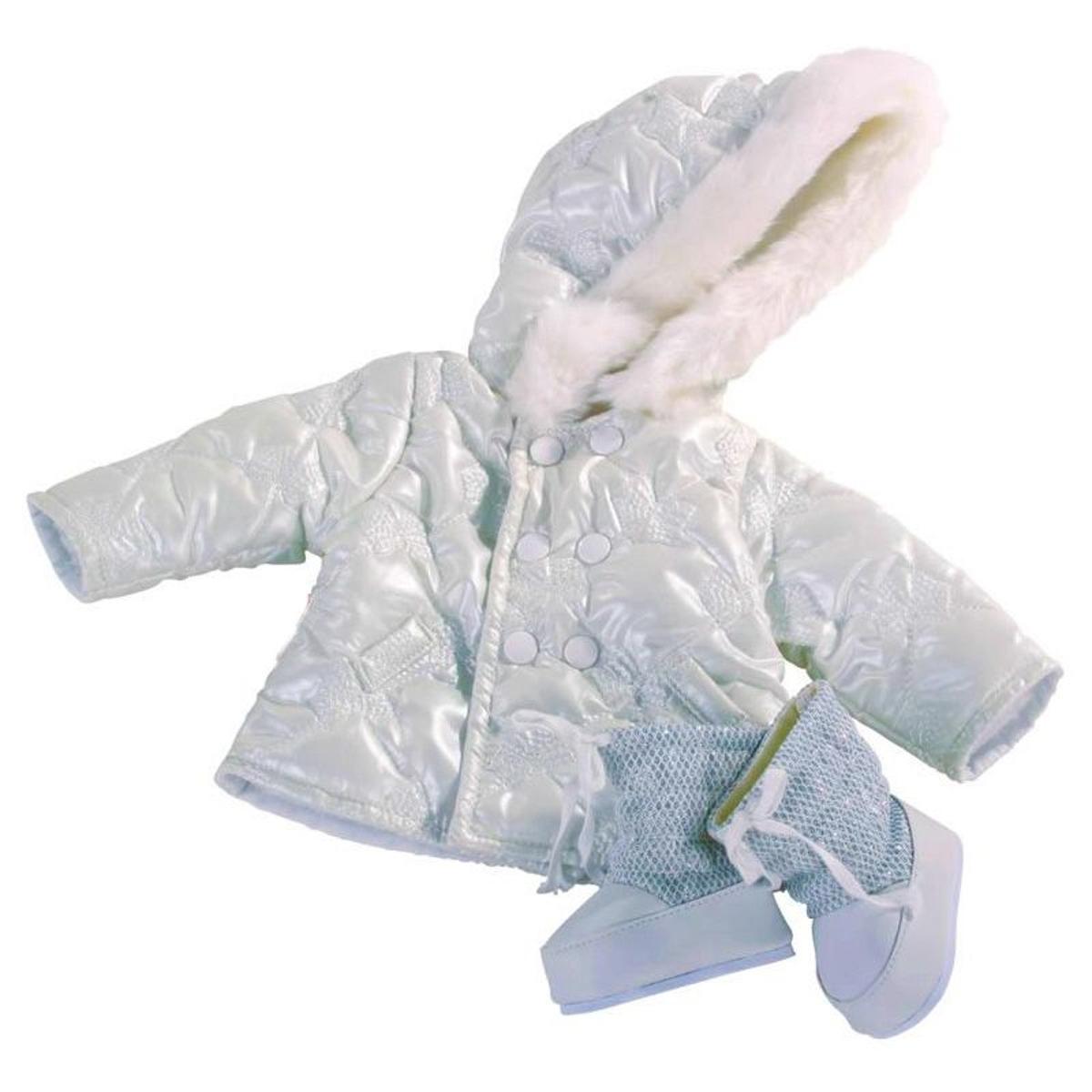 Vêtements pour poupée de 45 à 50 cm : Manteau et bottes