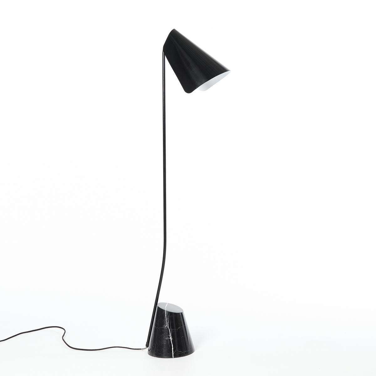 Лампа настольная BadaillacНастольная лампа Badaillac. Элегантная и усовершенствованная формаХарактеристики :- Из металла, абажур и основания с покрытием эпоксидной краской, клетка под латунь.- Основание из мрамора.- Патрон E14 для компактной флуоресцентной лампы макс. 25 Вт (продается отдельно).- Совместима с лампами класса энергопотребления A.Размеры : Ш.35,6 x В.130,5 x Г.20 см Размеры и вес посылки:- Ш.43,6 x В.138,5 x Г.28 см, 10,13 кгДоставка:Товар может быть доставлен до двери по предварительной договоренности.Внимание! Убедитесь, что товар возможно доставить, учитывая его габариты (проходит в лестничные проемы, в лифты, по лестницам).<br><br>Цвет: черный
