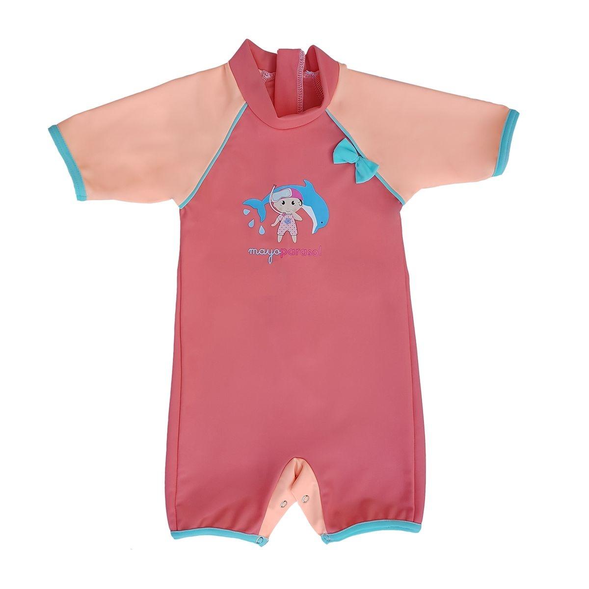 Peachy   Combinaison maillot anti UV plage bébé fille