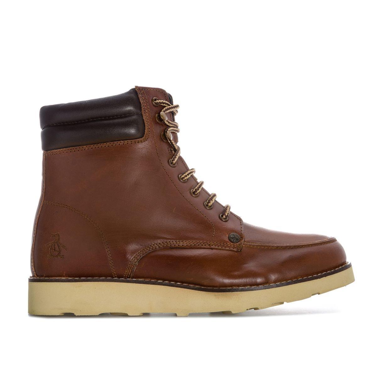 Boots cuir Clondyke