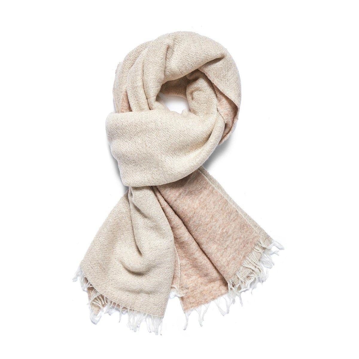 Echarpe en cachemire et Fil textile Brume