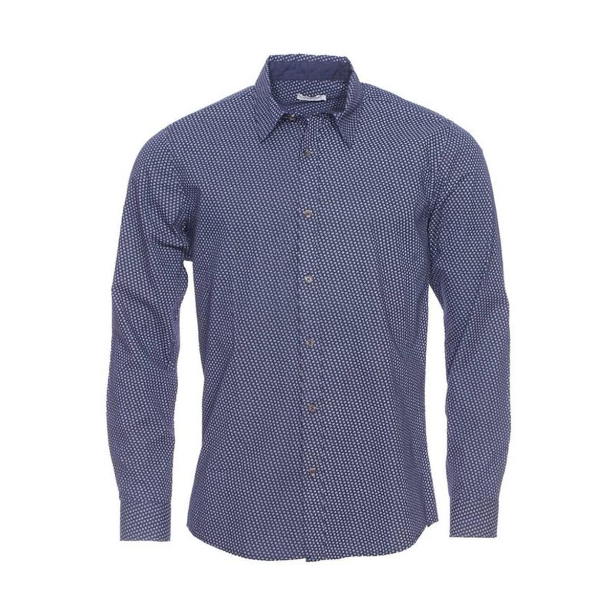 Chemise ajustée     à motifs ovales