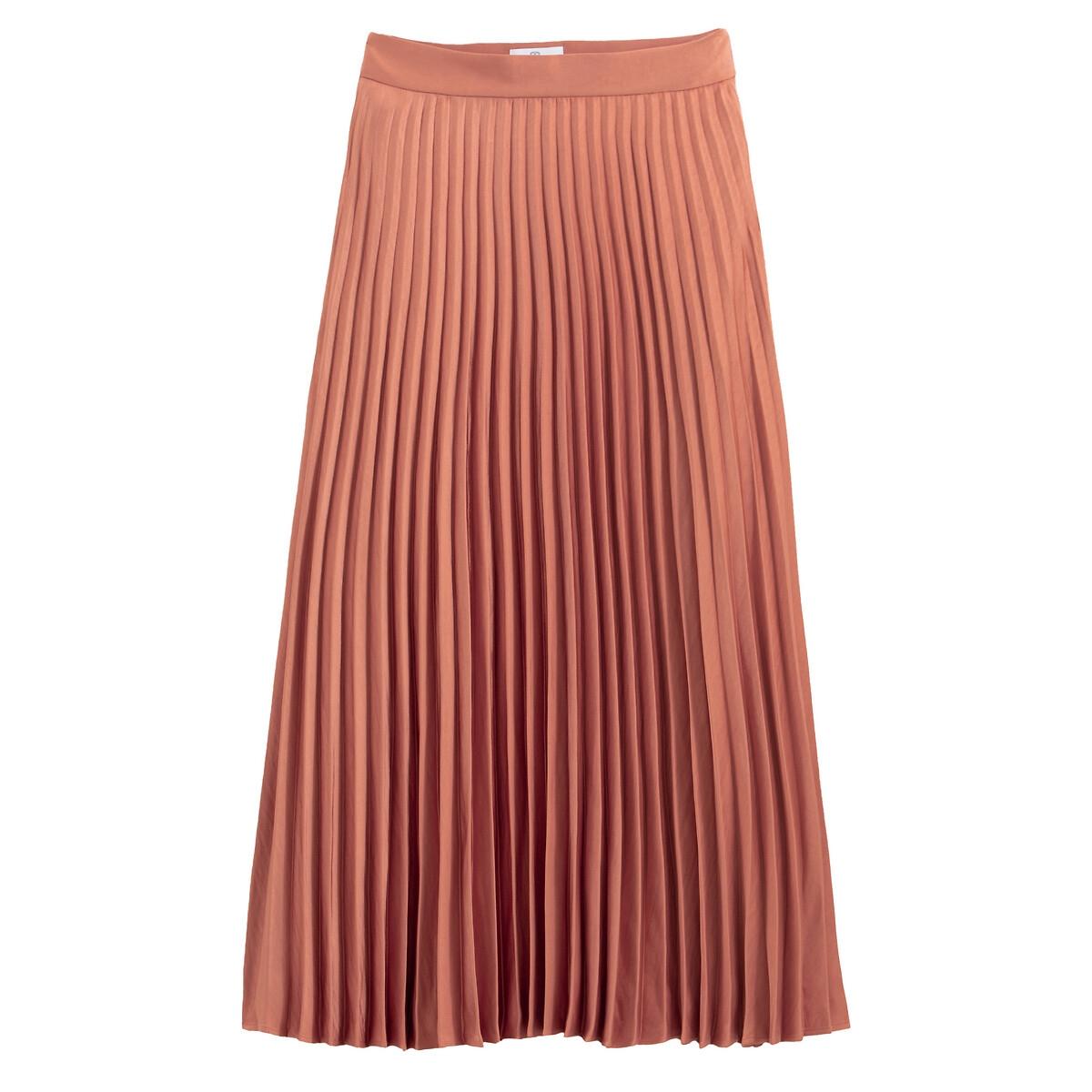 Falda plisada larga