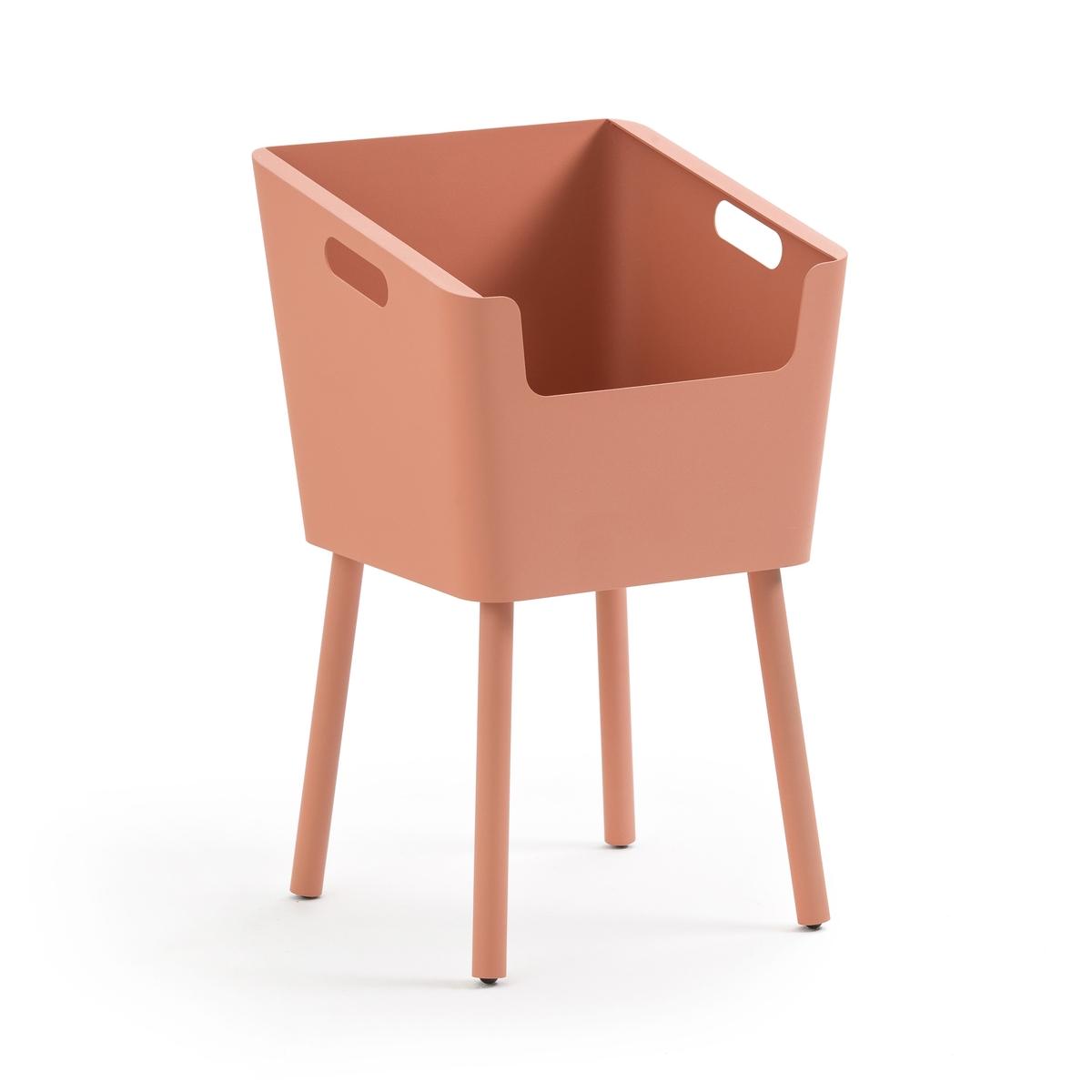 Фото - Столик LaRedoute Прикроватный из металла Monbefi единый размер розовый прикроватный la redoute столик в стиле винтаж watford единый размер каштановый