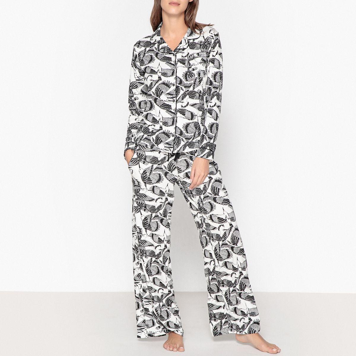 Pyjama imprimé oiseaux