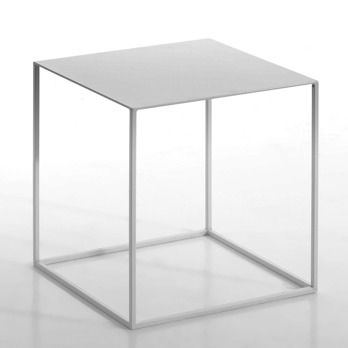 Столик из лакированного металла, RomyОписание : - лакированный металл Размеры : - 40 x 40 x 40 см<br><br>Цвет: серый