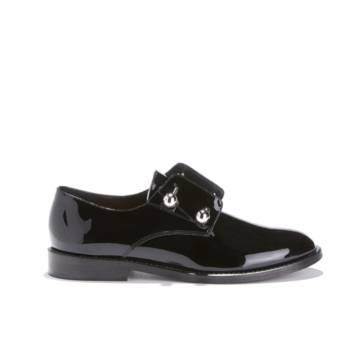Ботинки-дерби на плоском каблуке DHUBAN