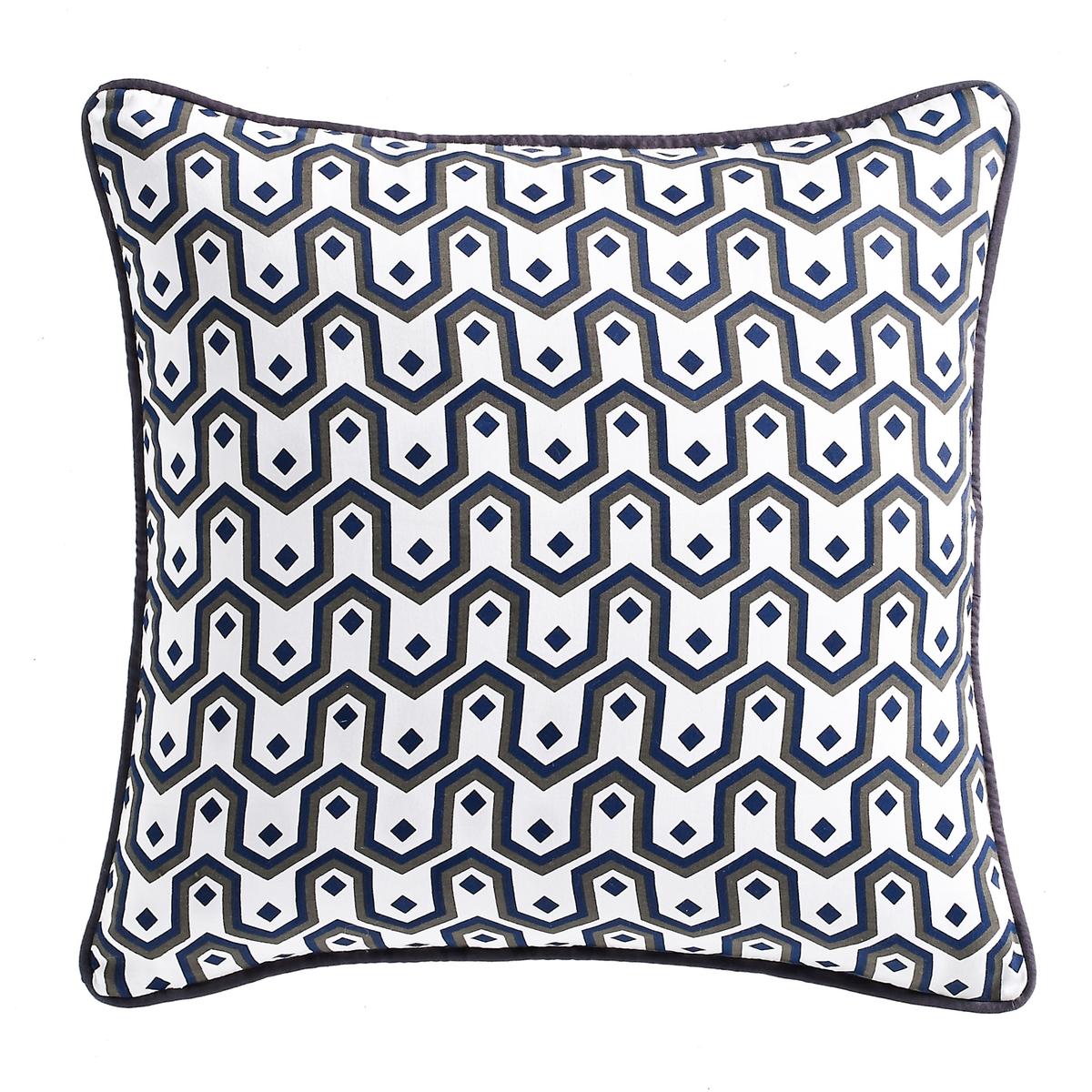 Чехол для подушки из хлопкового сатина с рисунком, Selisa