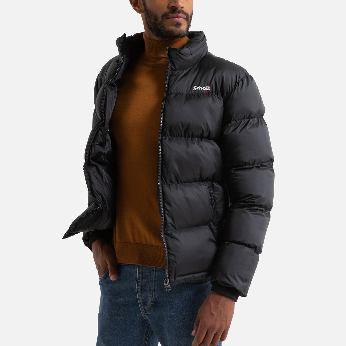 Куртка LaRedoute Стеганая на молнии с воротником-стойкой Idaho 3XL черный