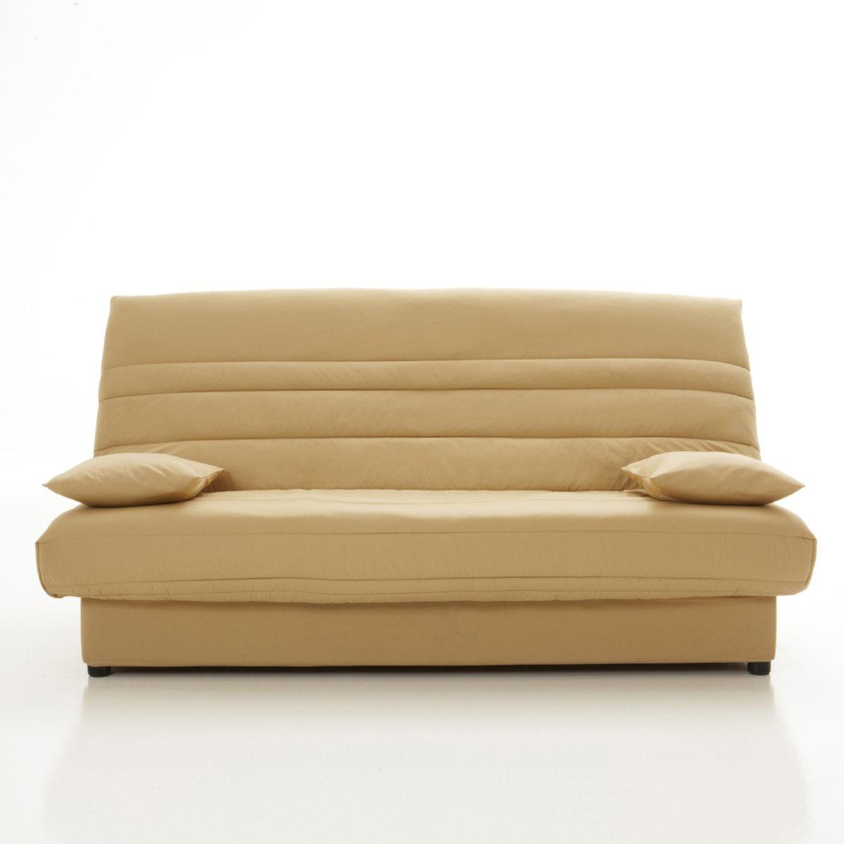 Чехол натяжной для дивана-книжки и складной тумбы, усовершенствованная модельРазмеры чехла :3 варианта ширины :Ширина: 120 см.Ширина  130 смШирина 140 смОписание :- Стеганый чехол с наполнителем из полиэстера (250 г/м?)- На резинке.- Поставляется в комплекте с 2 чехлами на подушку-валик и лентой для складной тумбыОбивка :- Однотонная расцветка : 100% хлопок, пропитка от пятен (250 г/м?)- Расцветка с рисунком : 50% хлопка, 50% полиэстера- Меланжевая расцветка : 100% полиэстер- Предоставляем бесплатные образцы материала : Введите примеры дивана-книжки в поисковой системе на сайте laredoute.ru.Другие модели коллекции чехлов с защелками вы можете найти на сайте laredoute.ru<br><br>Цвет: антрацит,бежевый песочный,горчичный,красный,светло-серый,серо-каштановый меланж,серо-коричневый каштан,сине-зеленый,темно-серый меланж,темно-фиолетовый,шоколадно-каштановый<br>Размер: 140 x 190  см.120 x 190  см