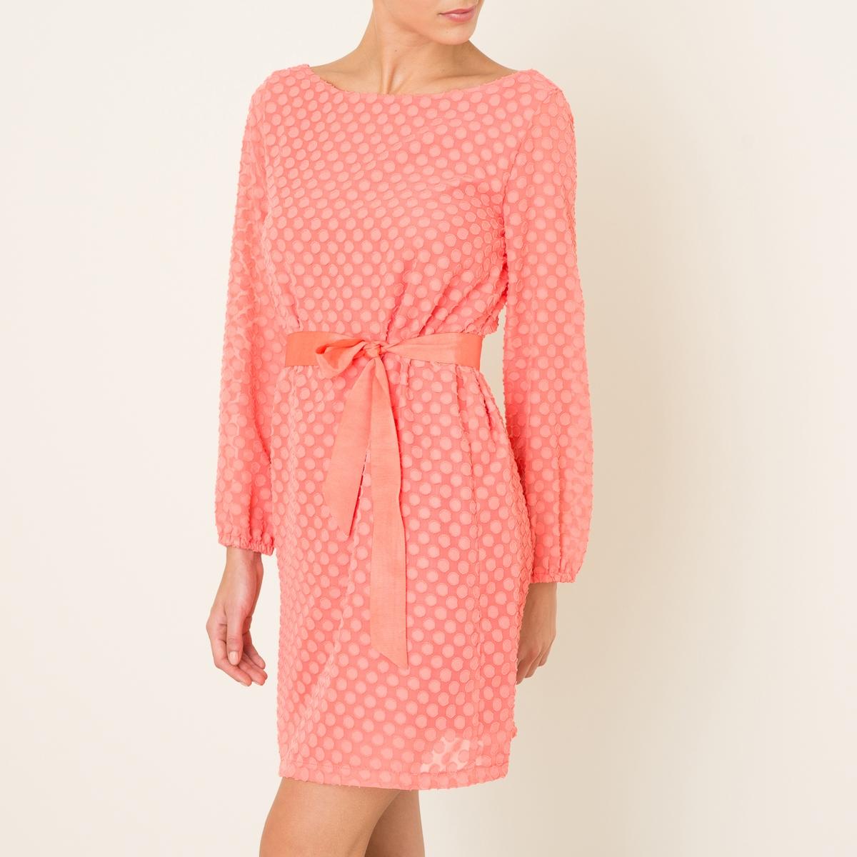 Платье AIMEСостав и описание    Материал : 100% полиэстер   Подкладка 100% полиэстер   Длина : ок. 93 см. для размера 36   Марка : LA BRAND BOUTIQUE<br><br>Цвет: коралловый<br>Размер: L